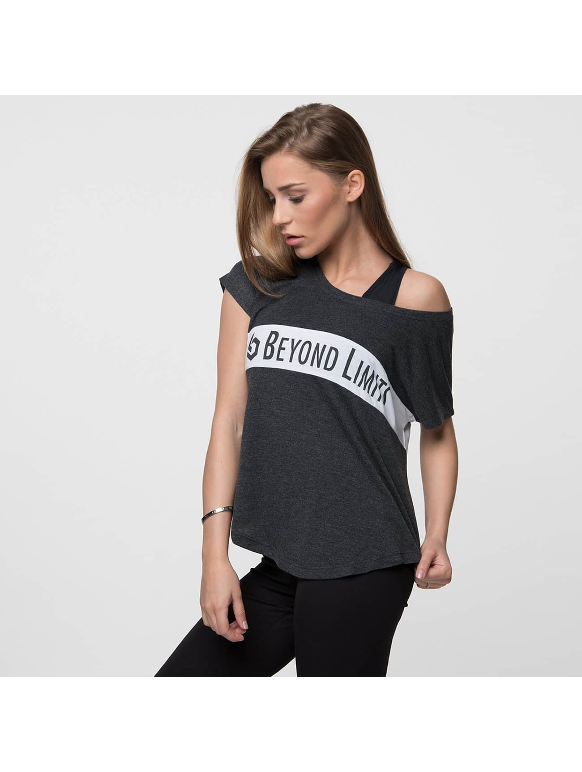 Beyond Limits Camiseta Casual negro