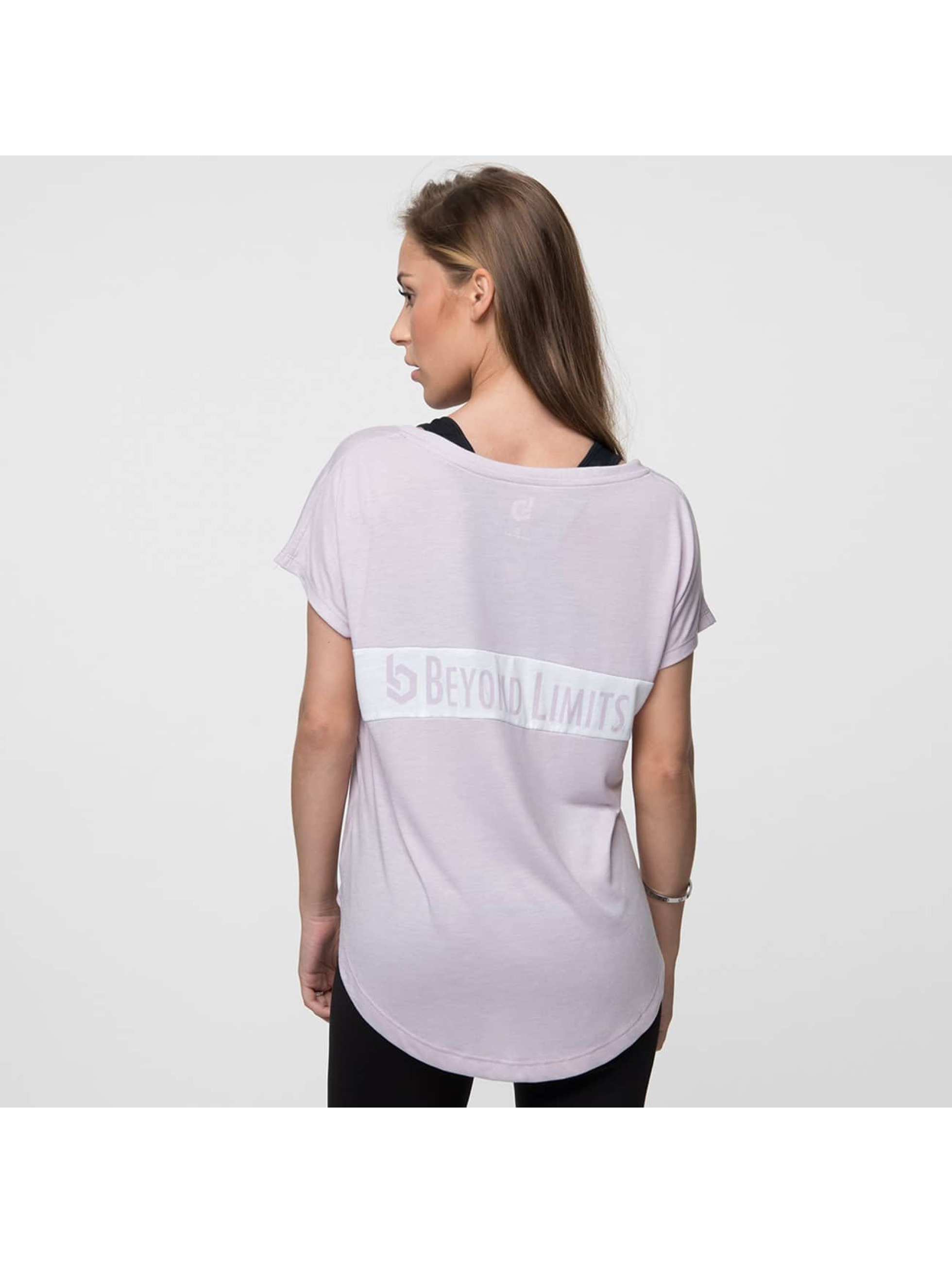 Beyond Limits Camiseta Casual rosa