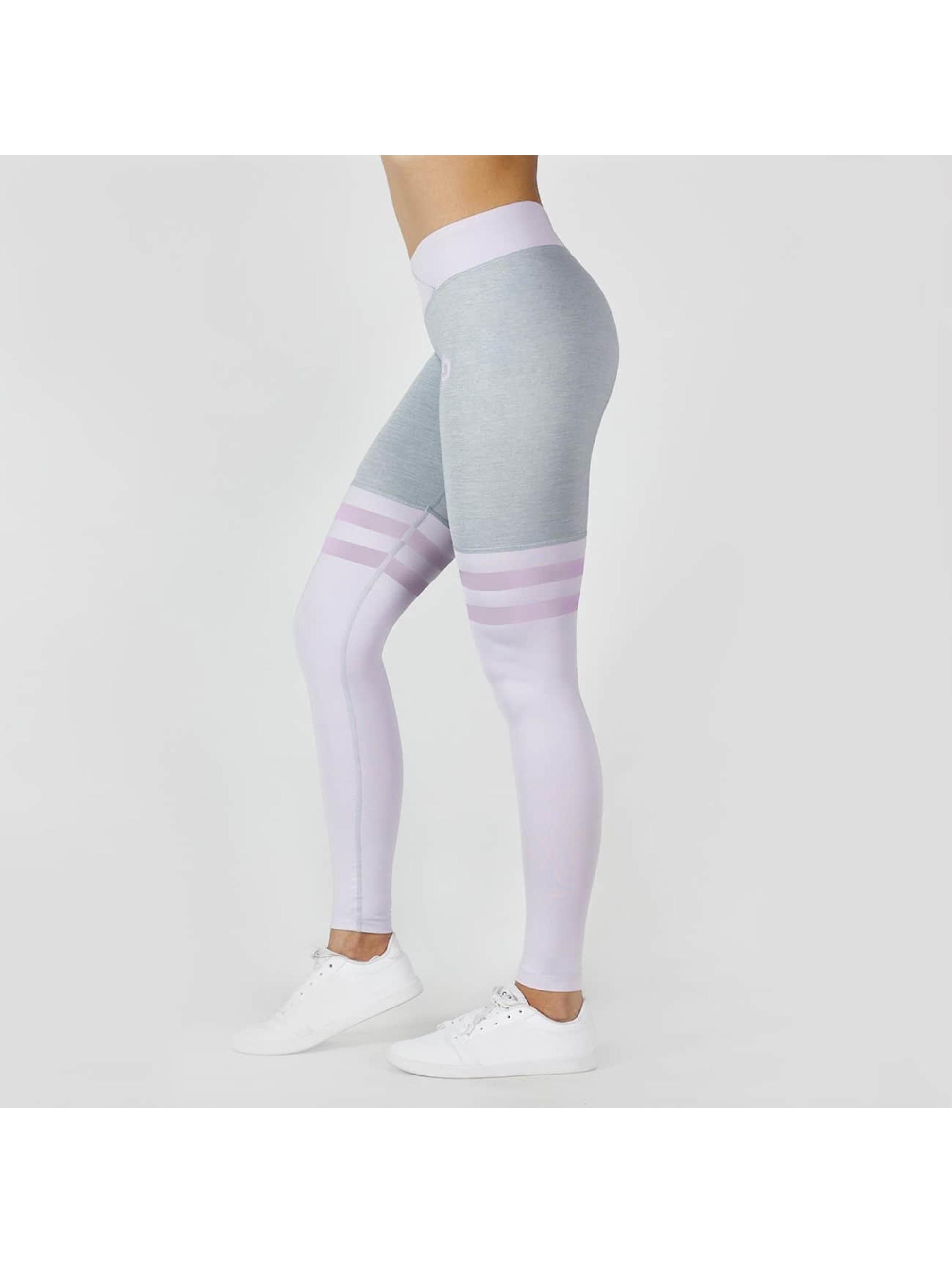 Beyond Limits Legging Overknee grau