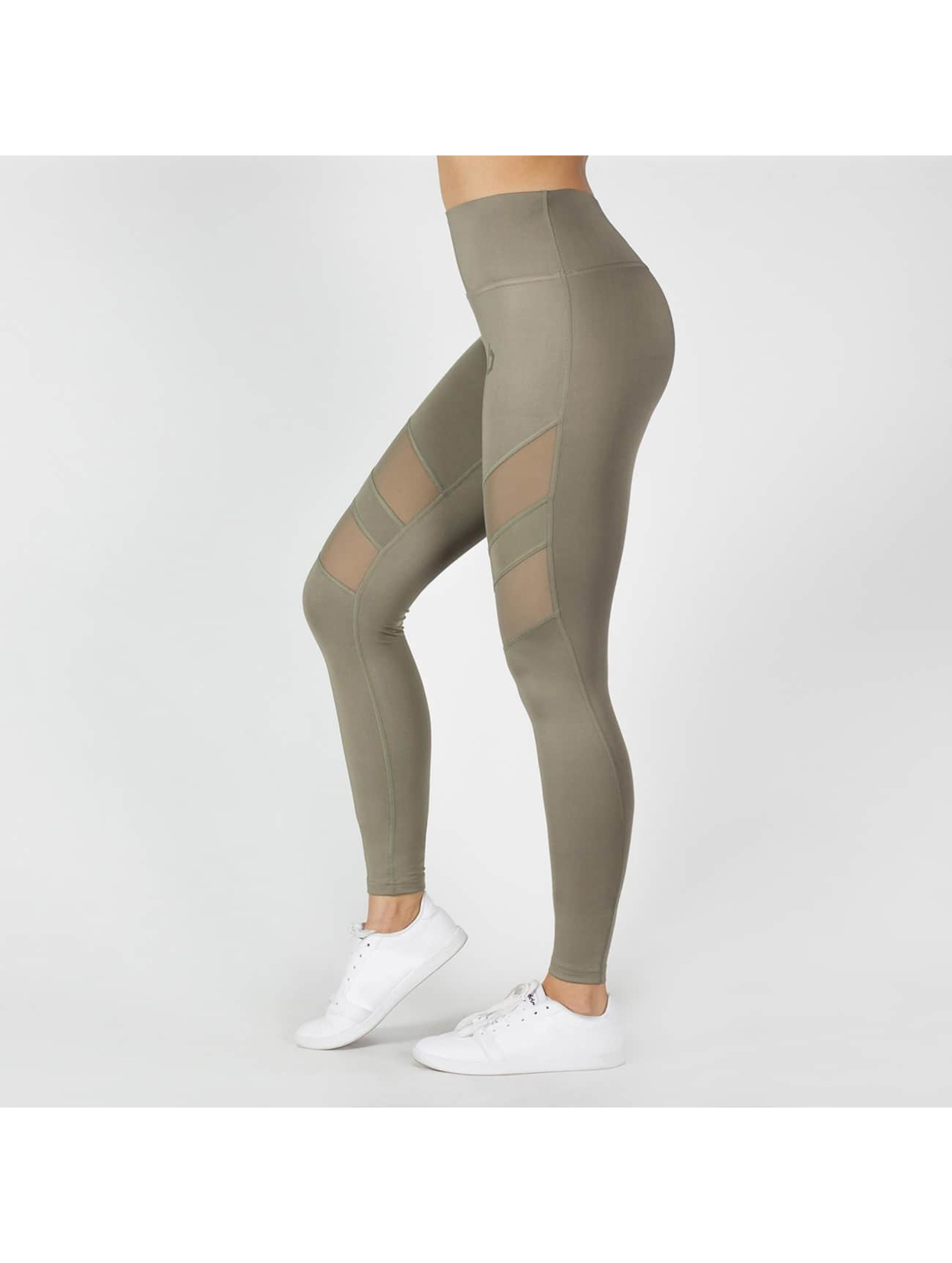 Beyond Limits Legging Super High Waist Mesh kaki