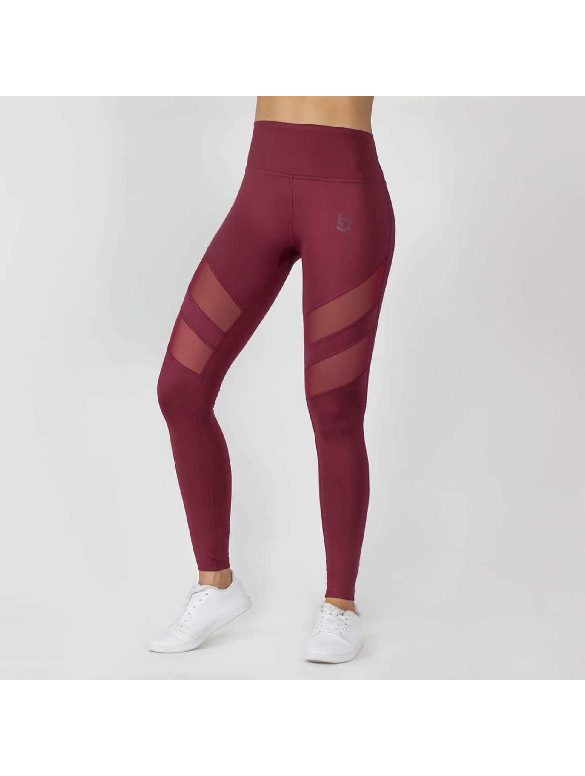 Beyond Limits Legging Super High Waist Mesh rood