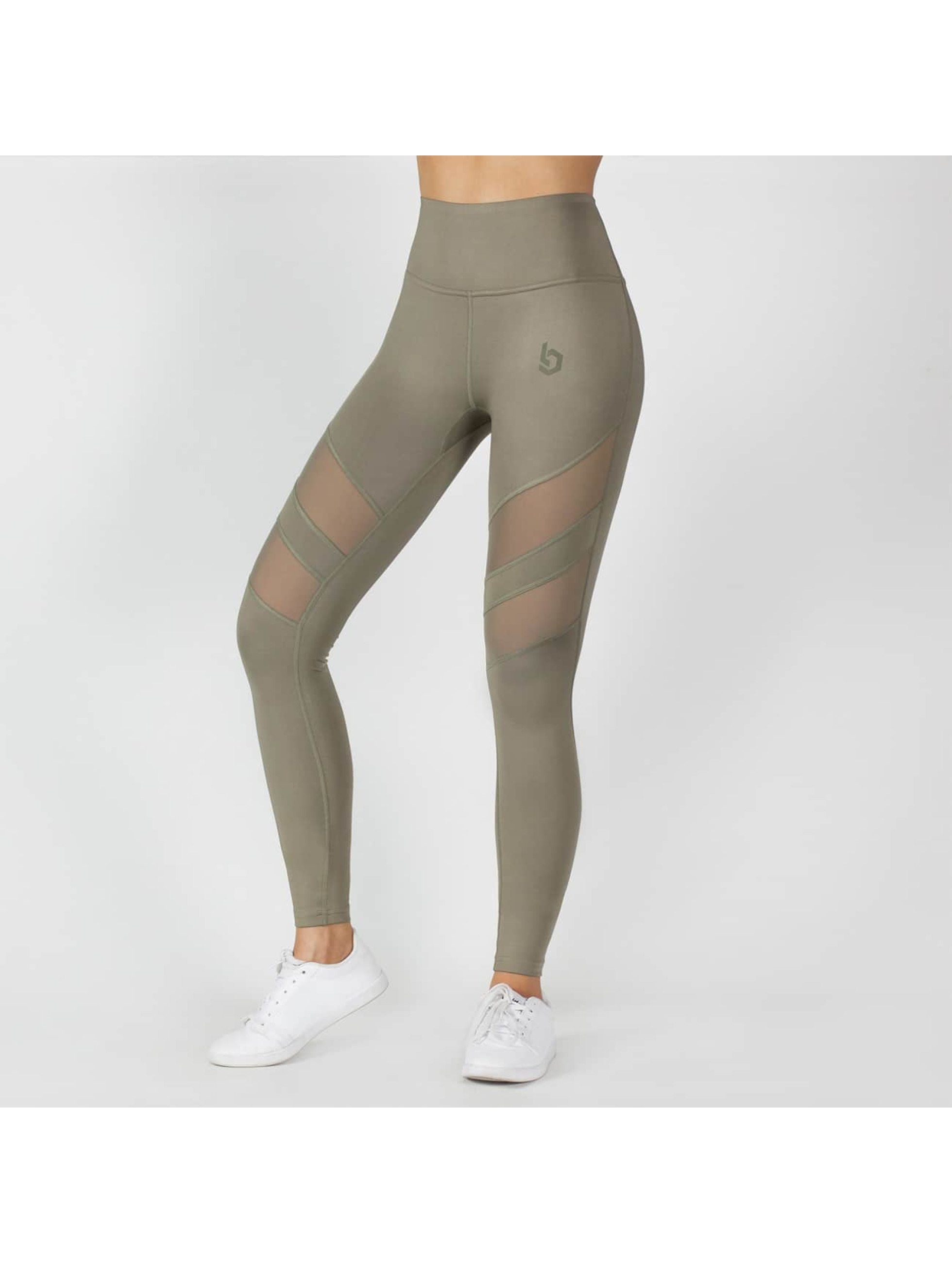 Beyond Limits Legging/Tregging Super High Waist Mesh caqui
