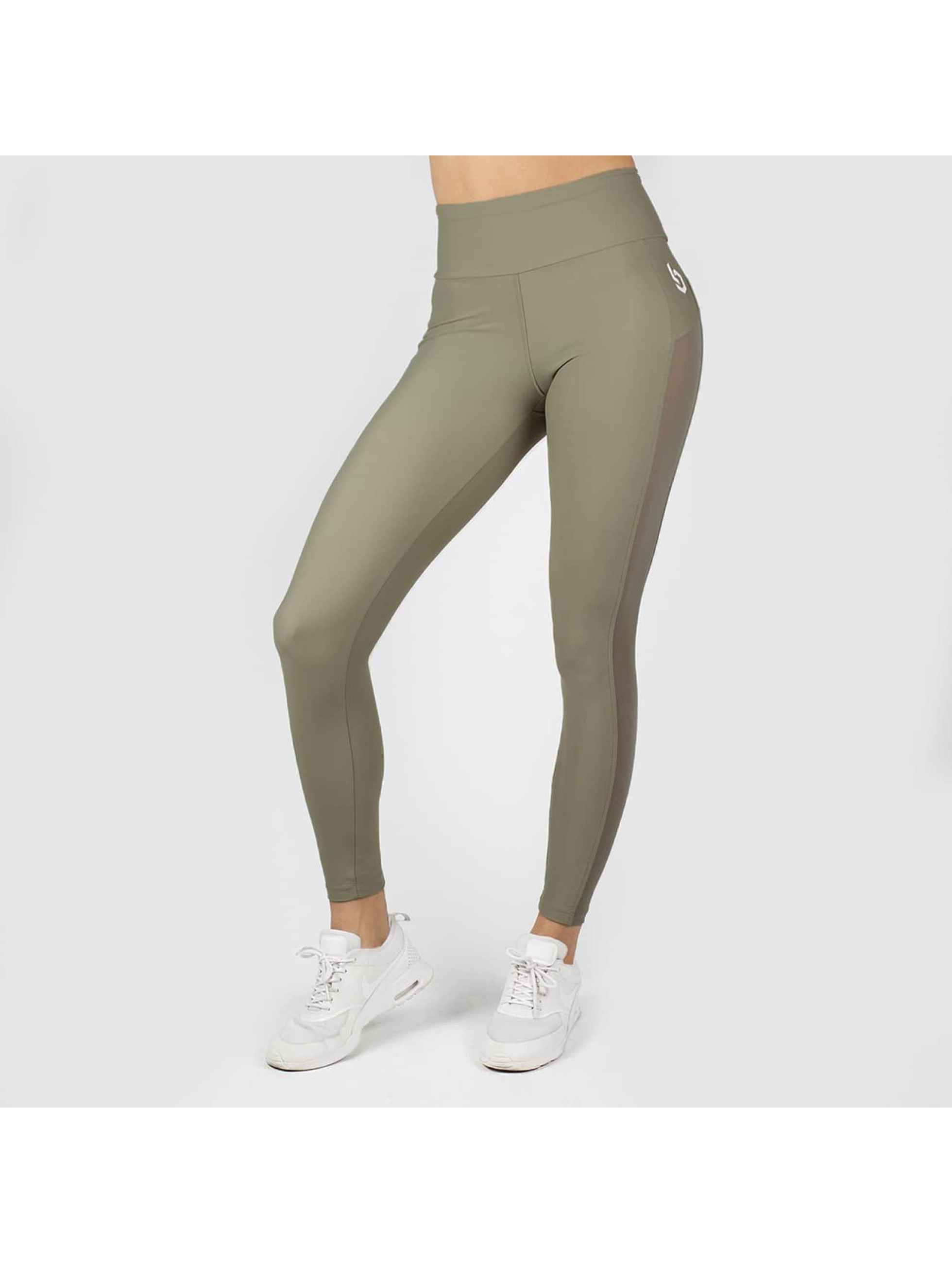 Beyond Limits Legging/Tregging High Waist Mesh khaki