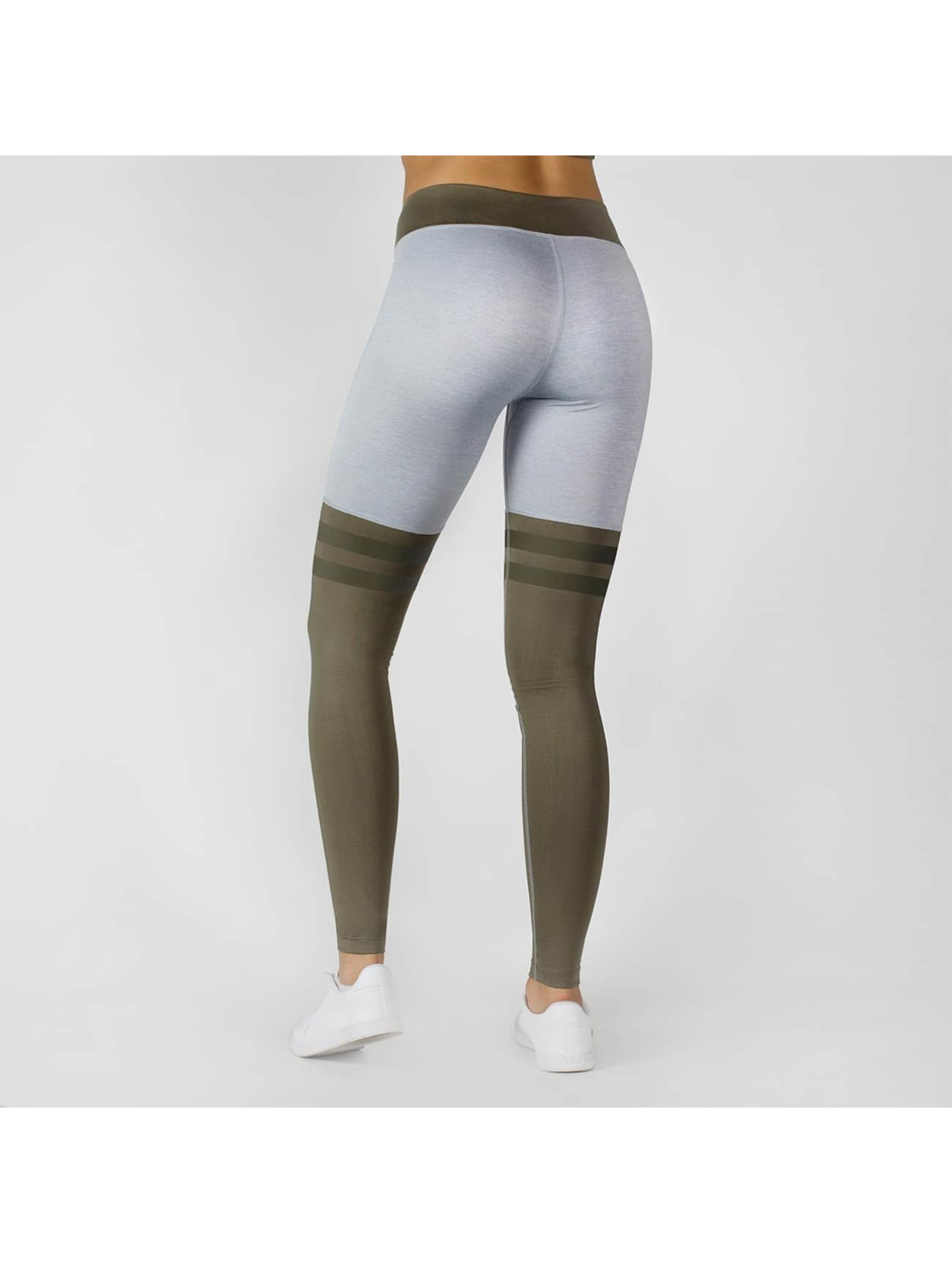 Beyond Limits Leggings/Treggings Overknee Stripe grå