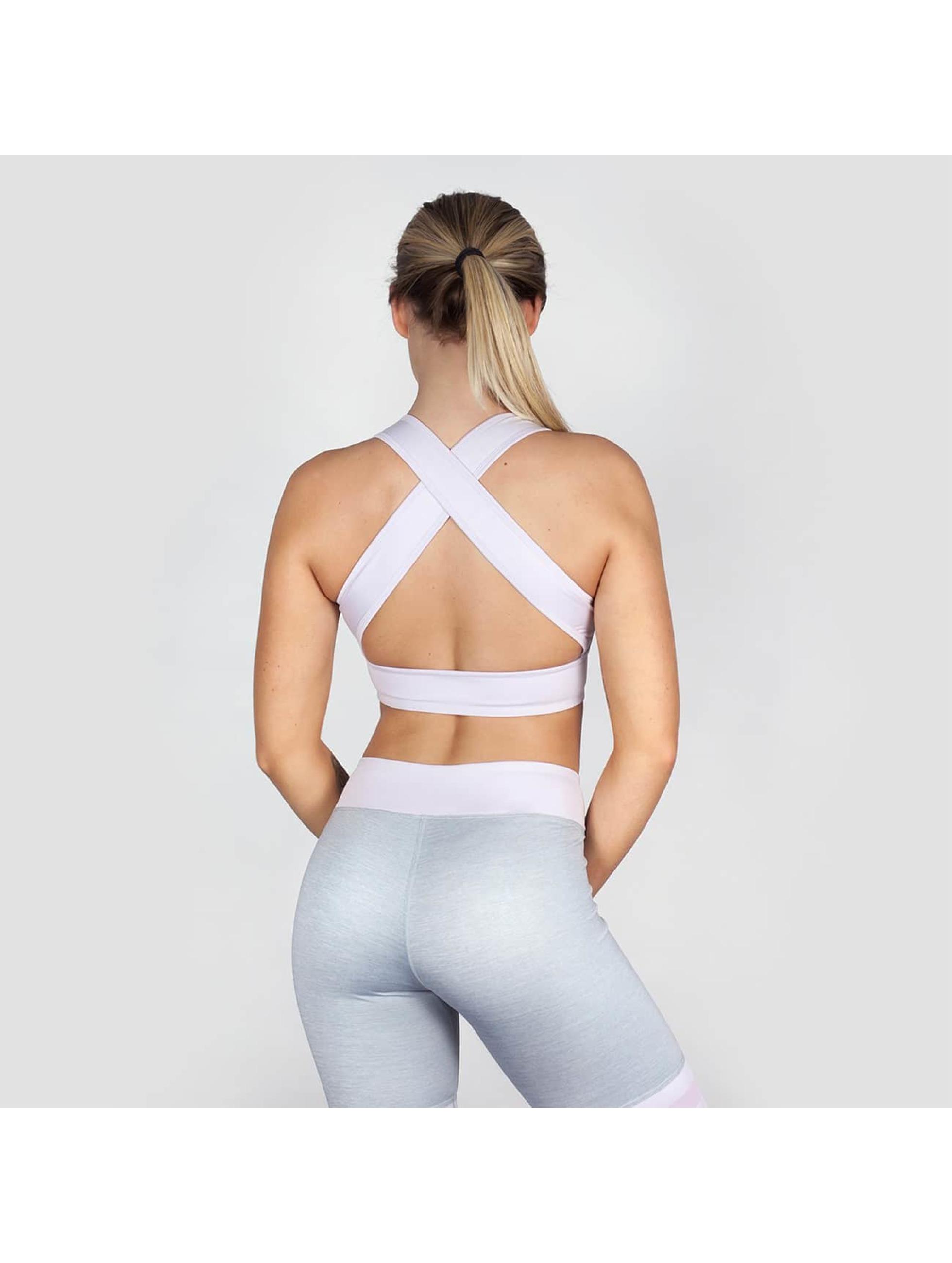 Beyond Limits Sports Bra Crossback grey