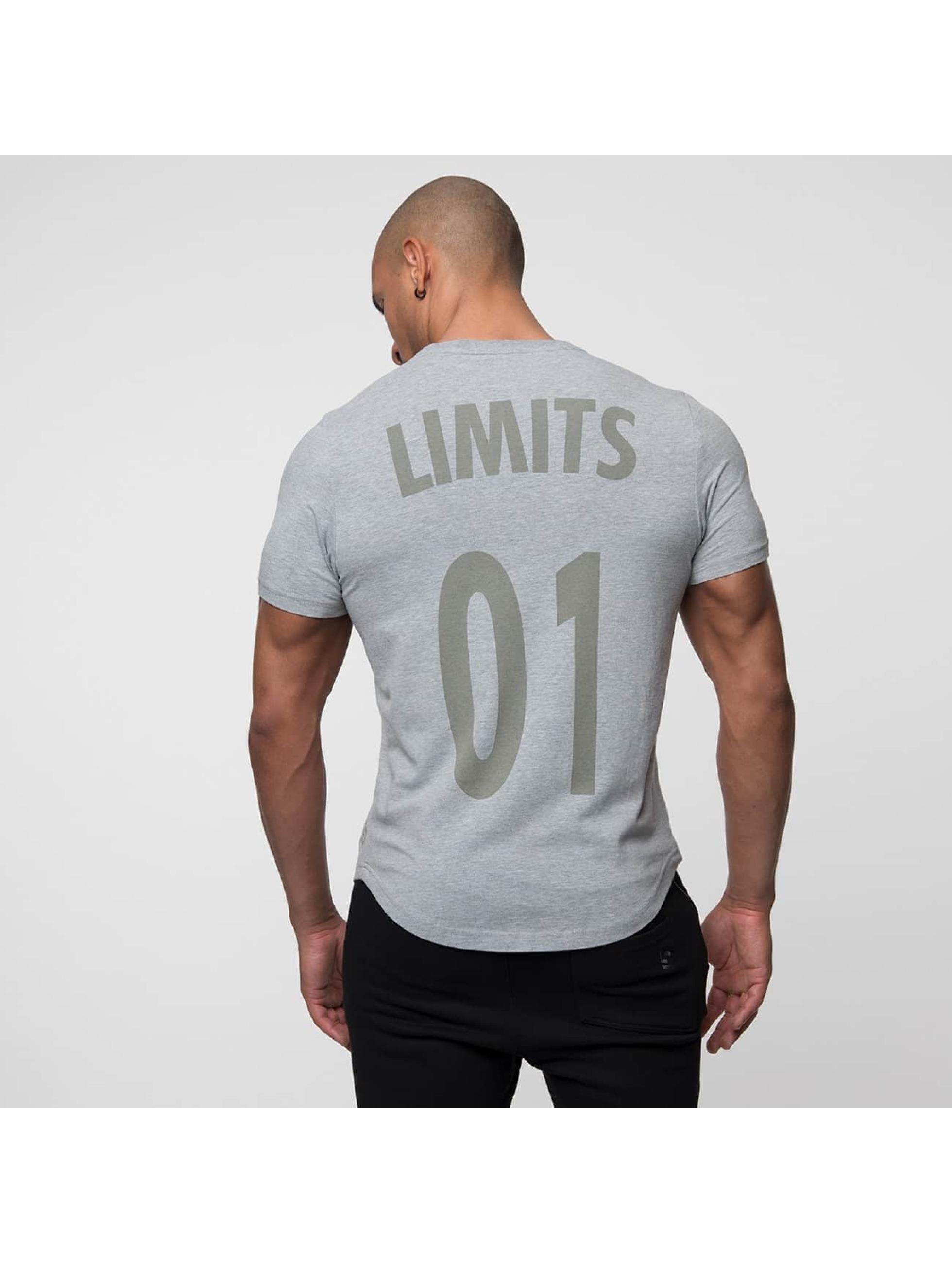 Beyond Limits T-Shirty League szary