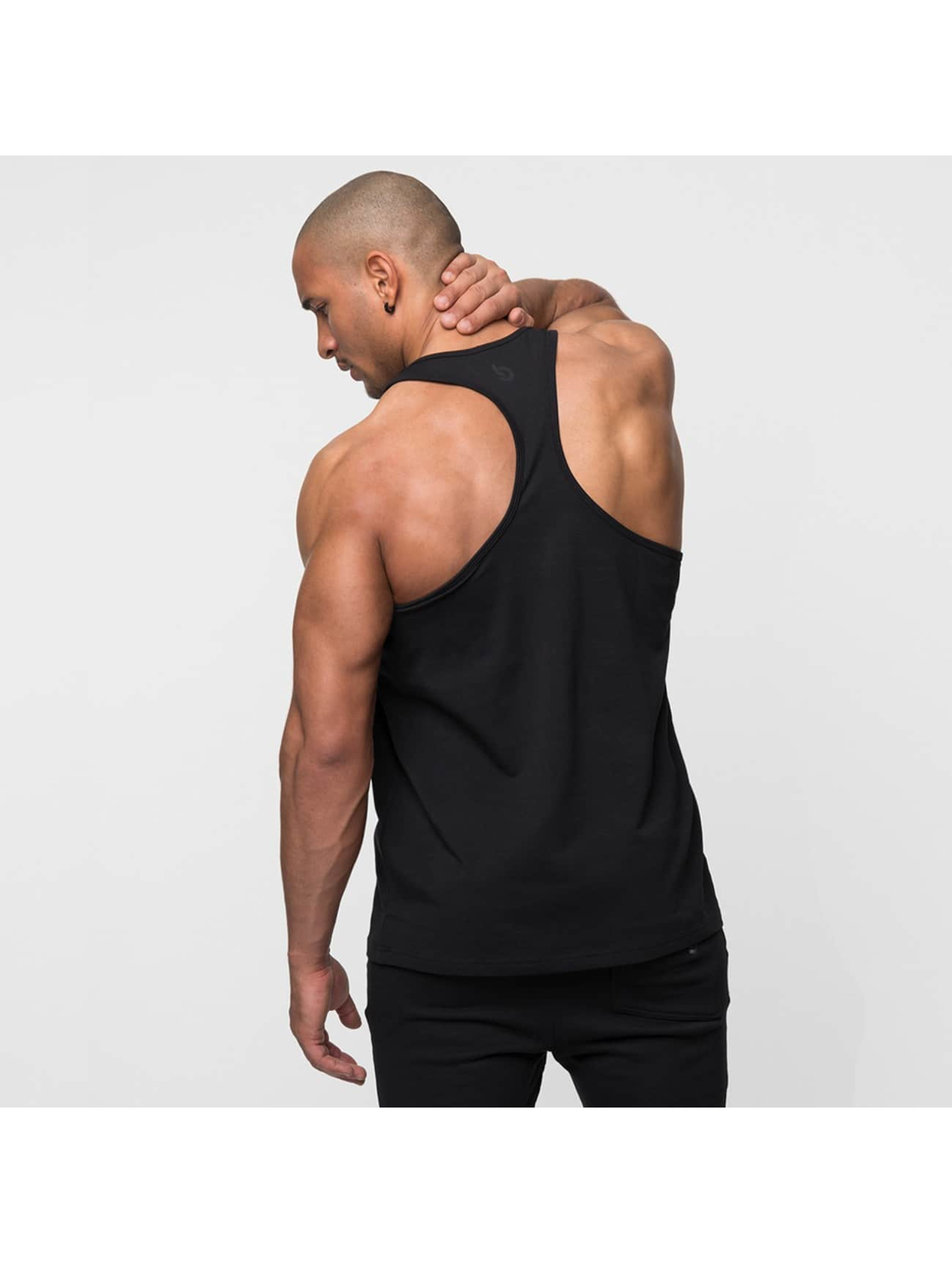 Beyond Limits Tank Tops Casual Stringer czarny