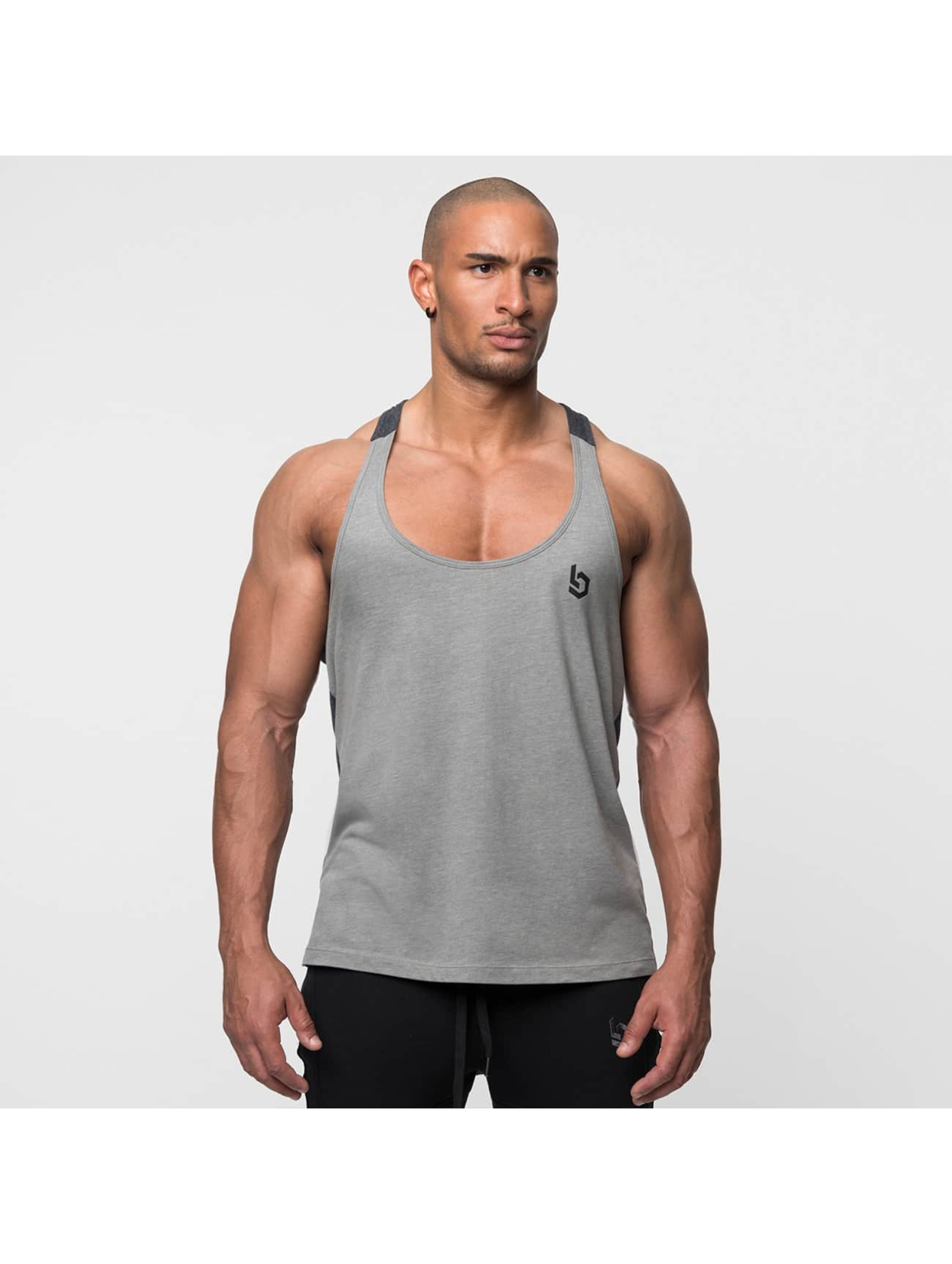 Beyond Limits Tanktop Selected Stringer grijs
