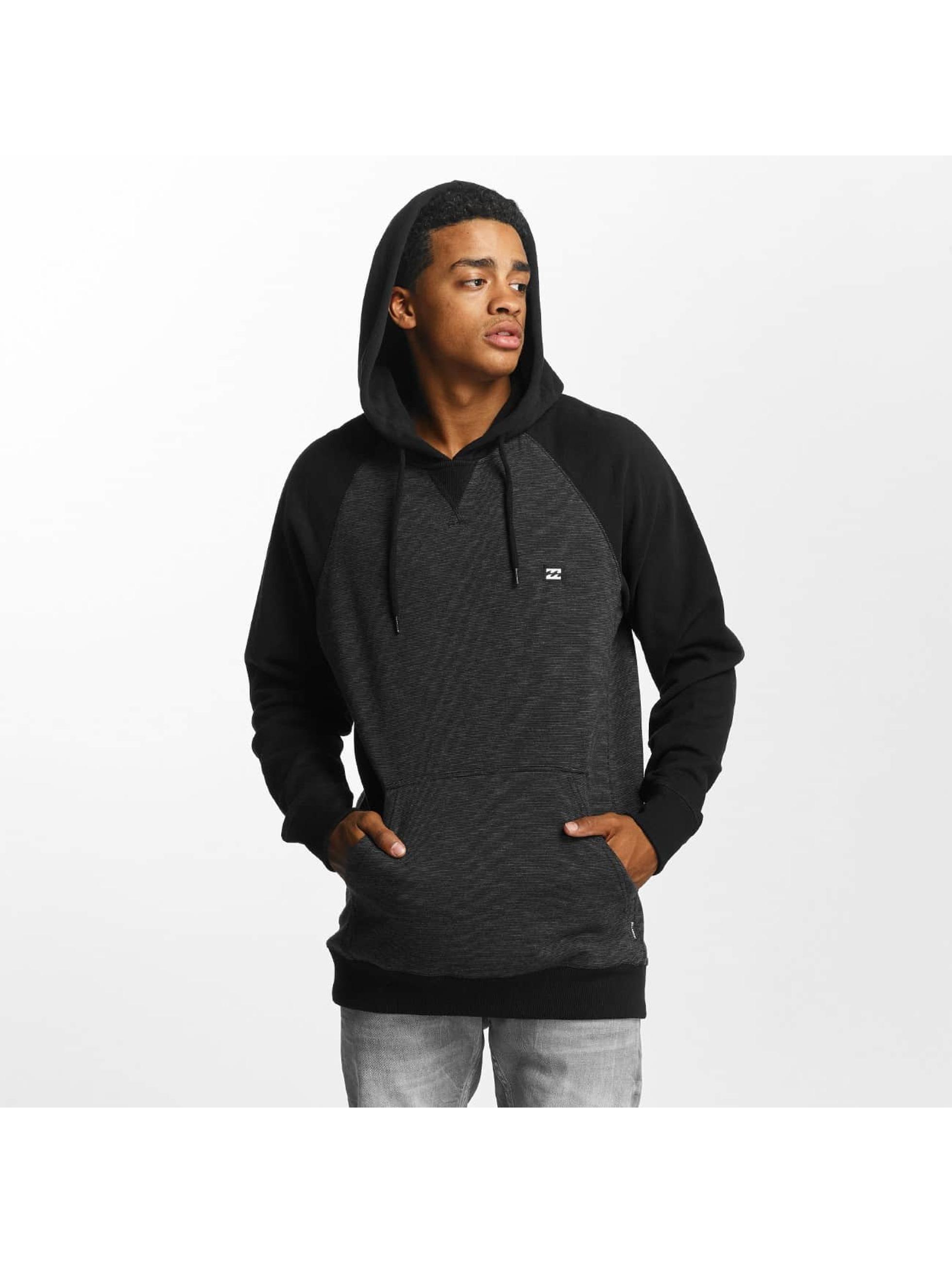 Billabong Bluzy z kapturem Balance czarny