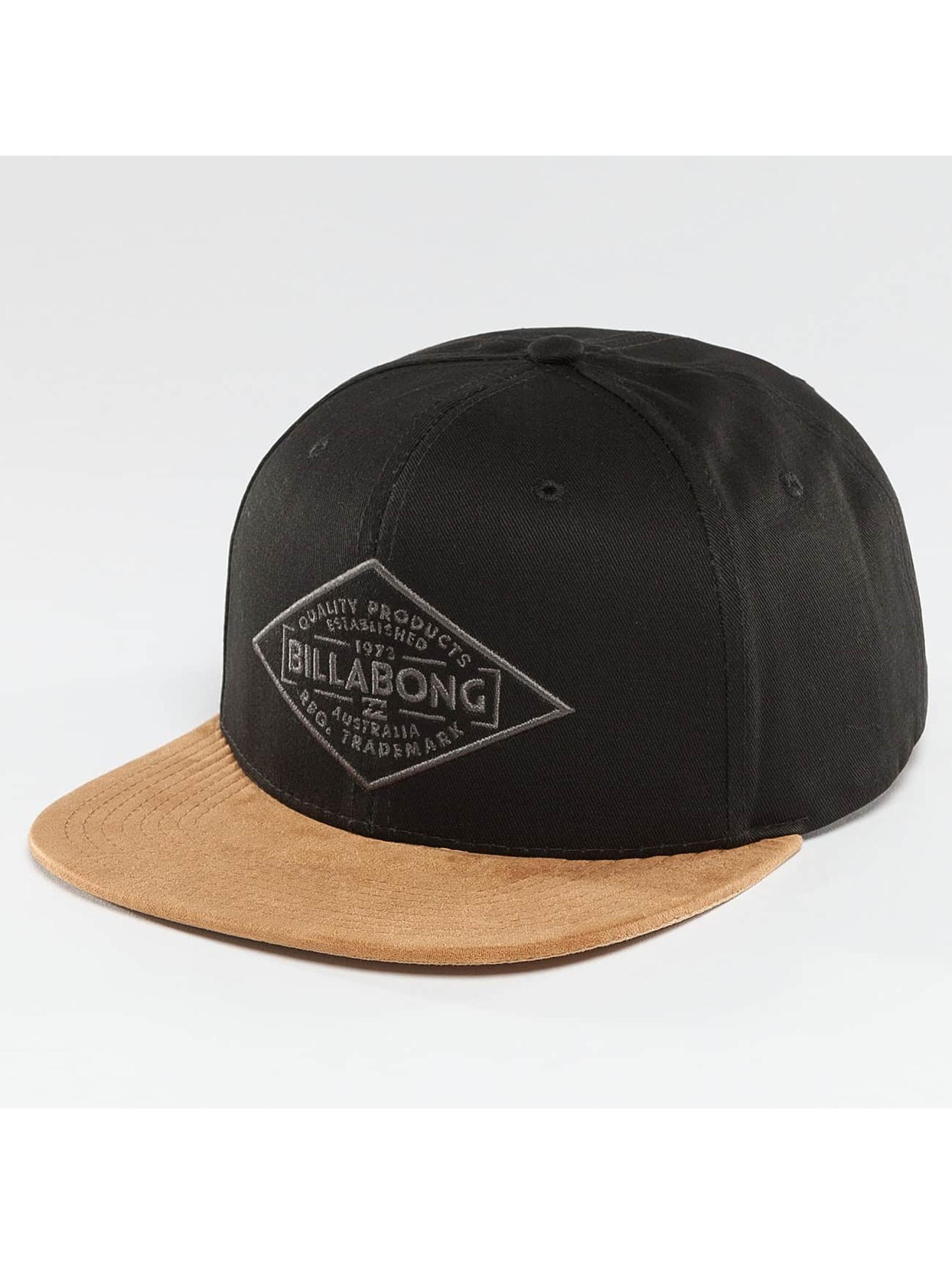 Billabong Snapback Caps Sama czarny