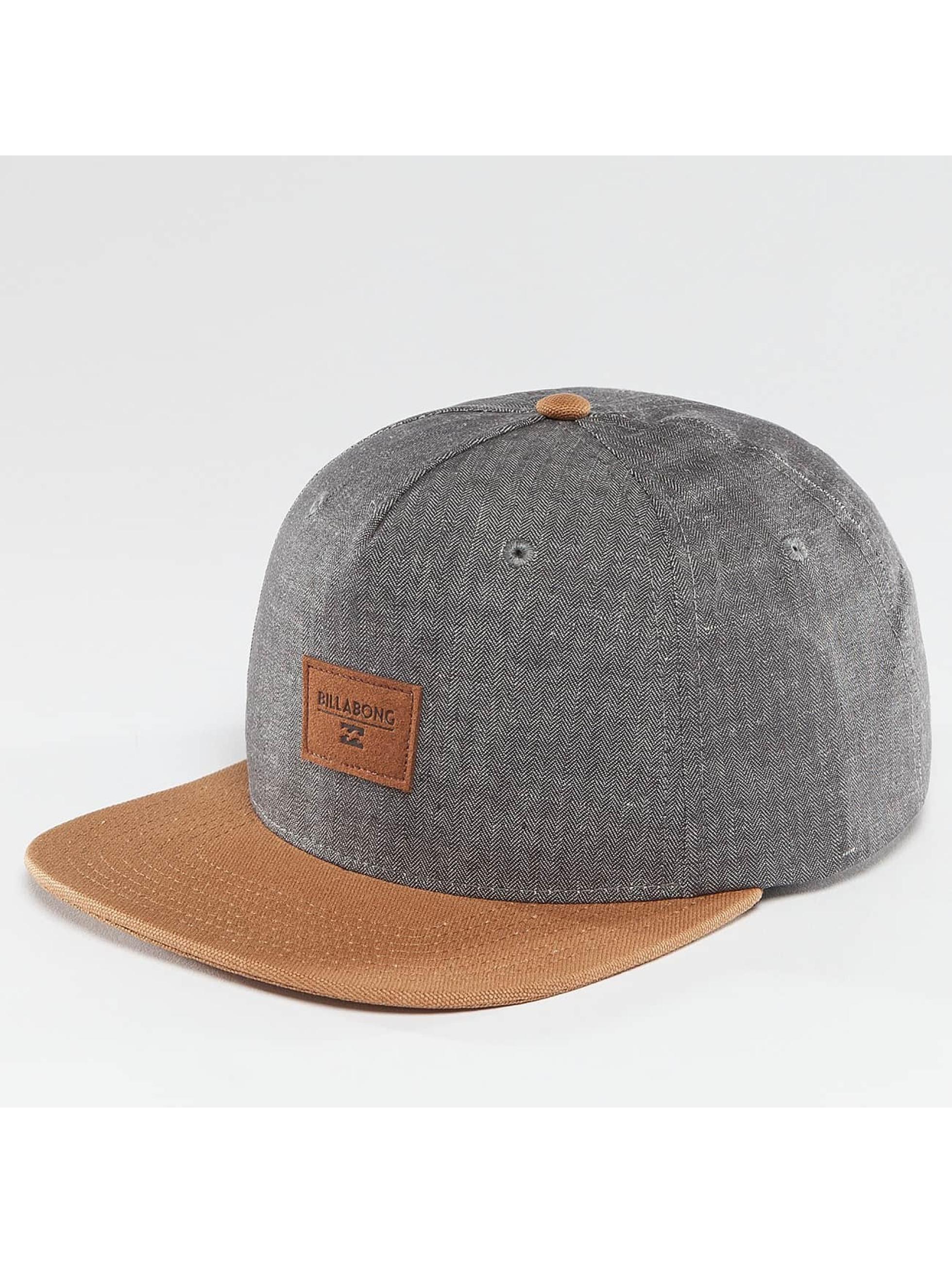Billabong Snapback Caps Oxford niebieski