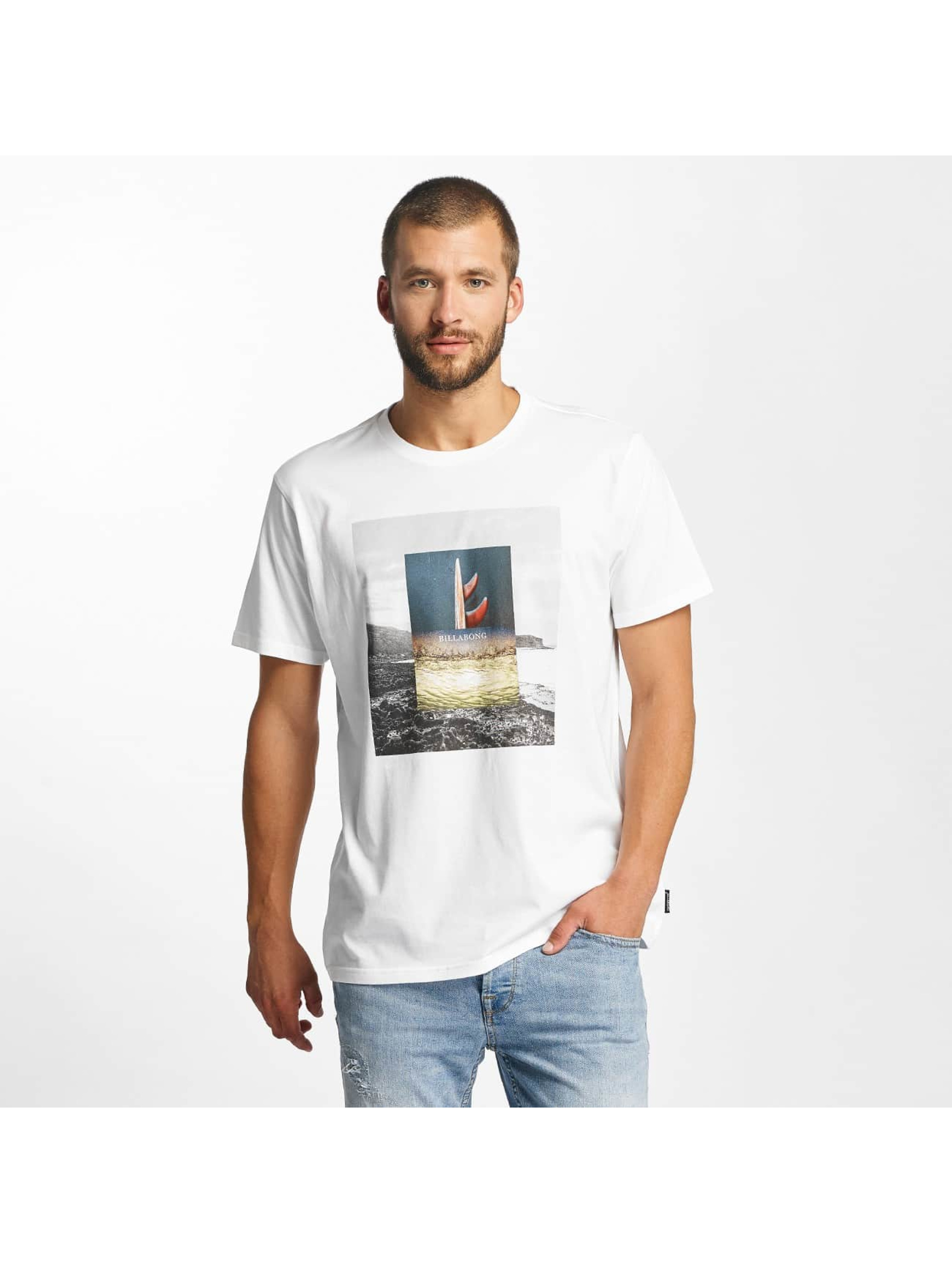 Billabong T-Shirty Frames bialy