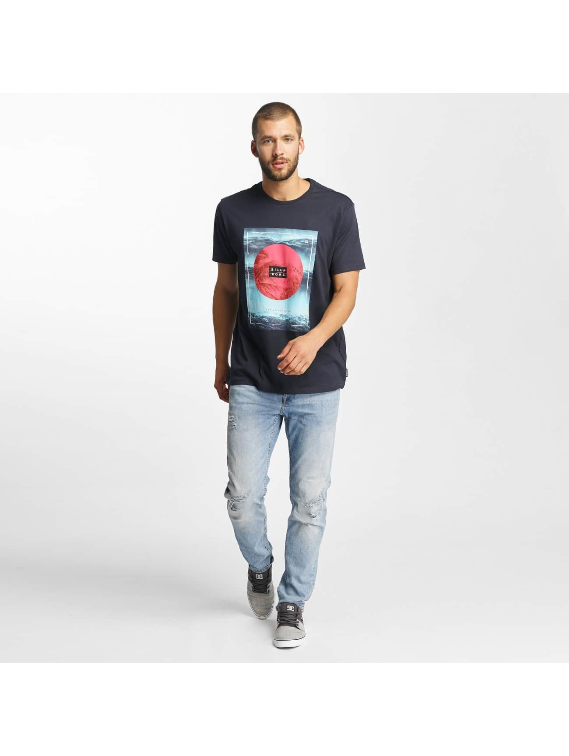 Billabong T-Shirty Caravan niebieski