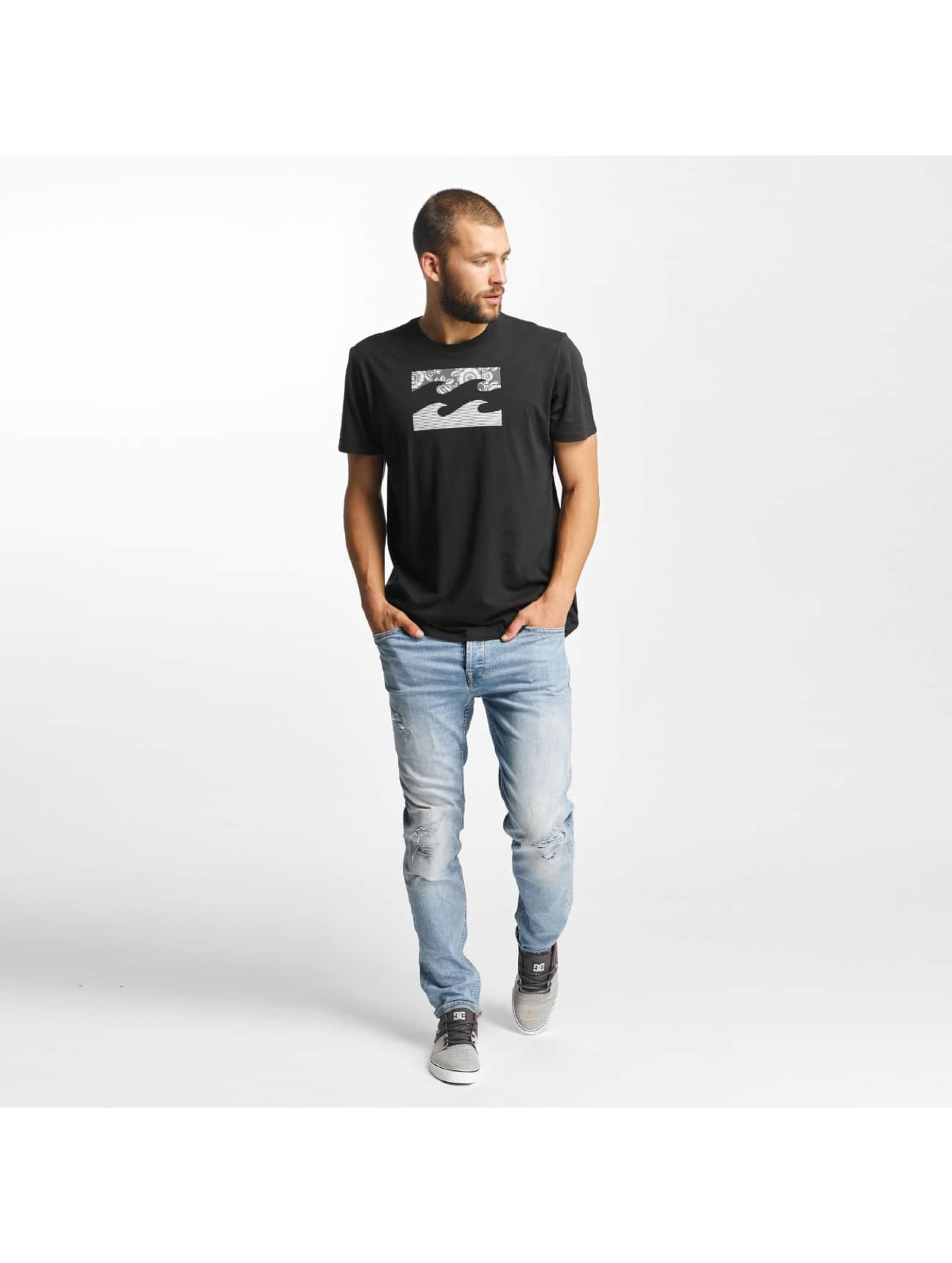Billabong T-skjorter Team Wave svart