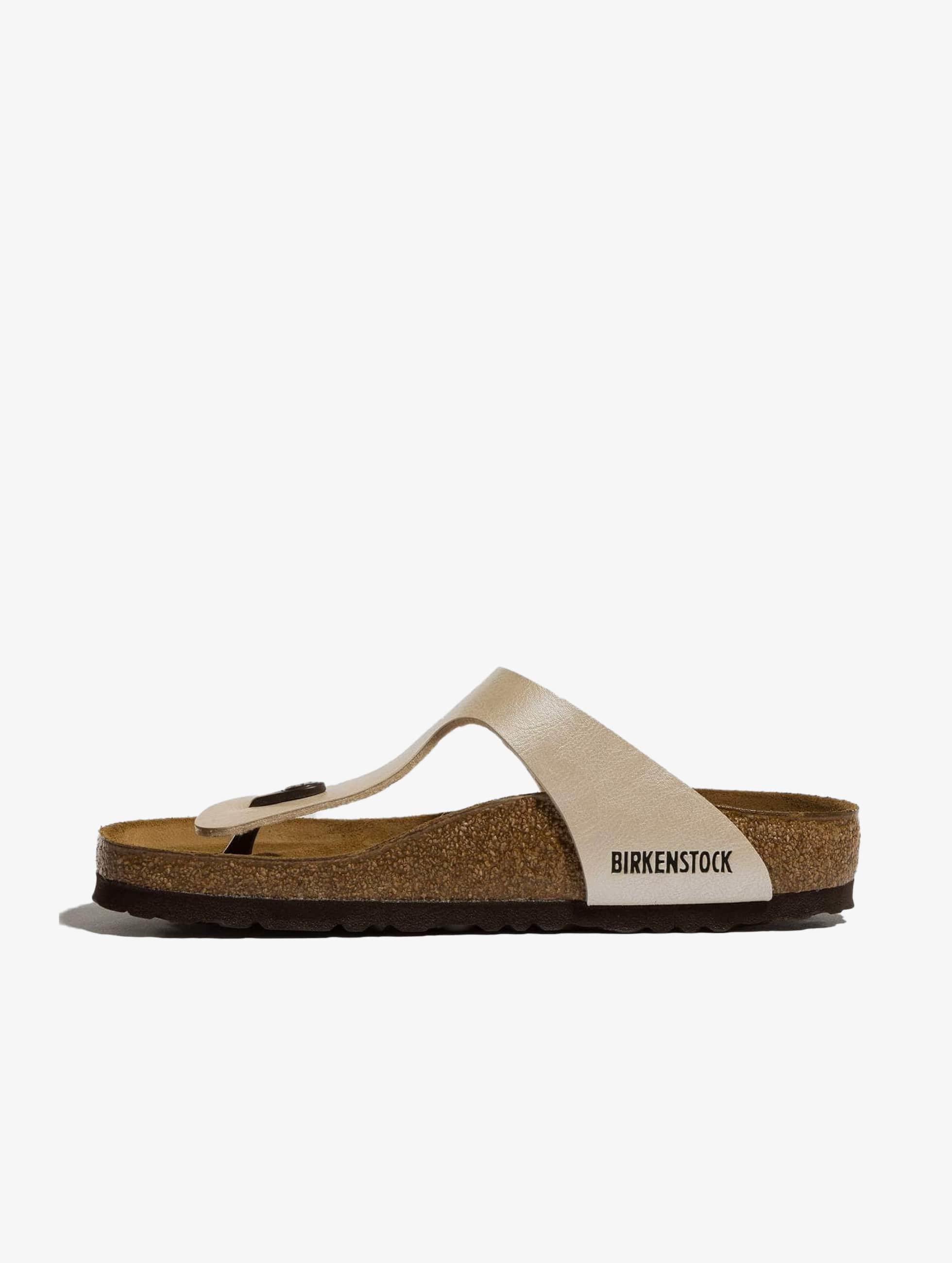 Birkenstock Gizeh BF Graceful Sandals Pearl White