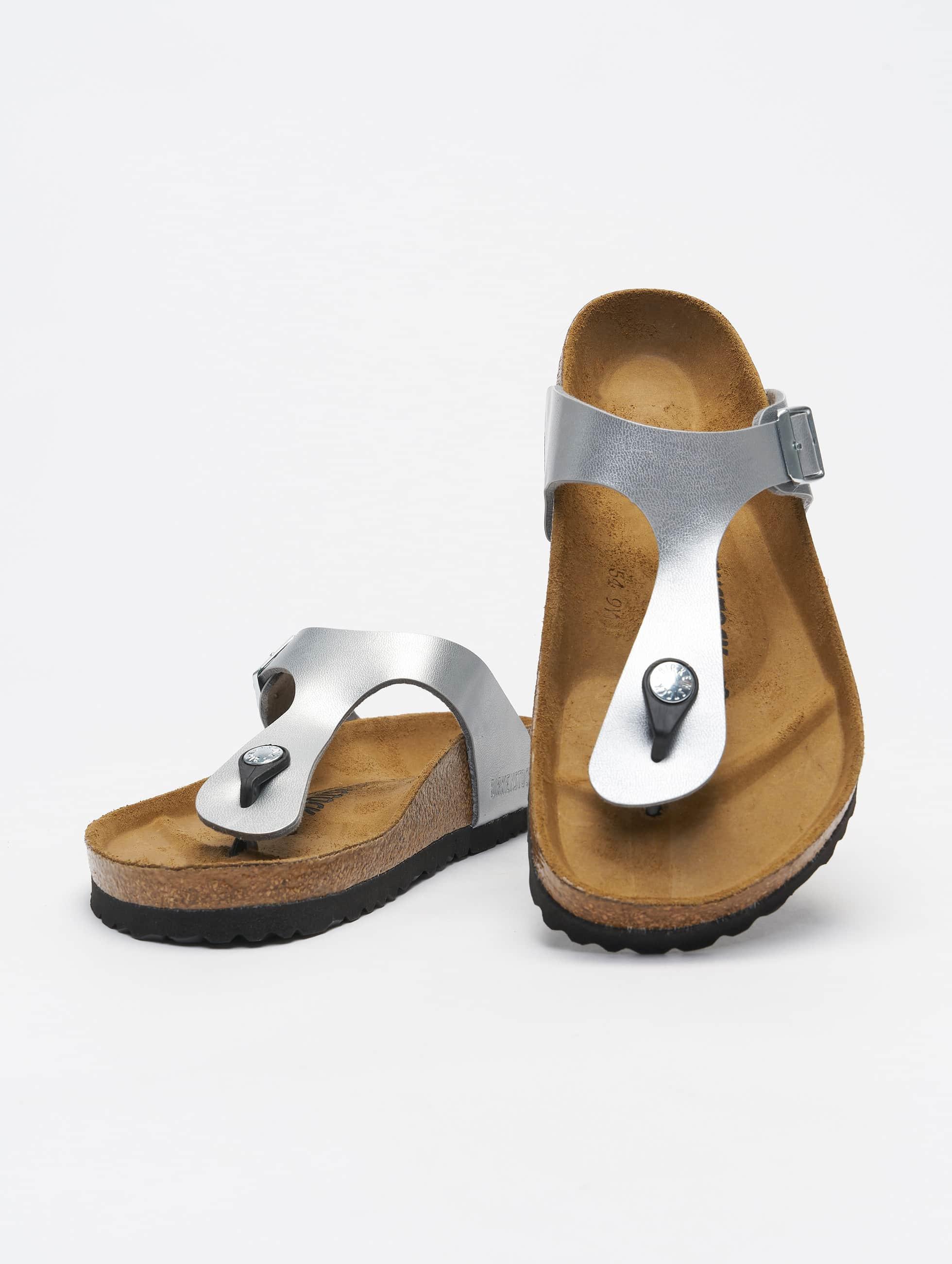Birkenstock Gizeh BF Sandals Silvern