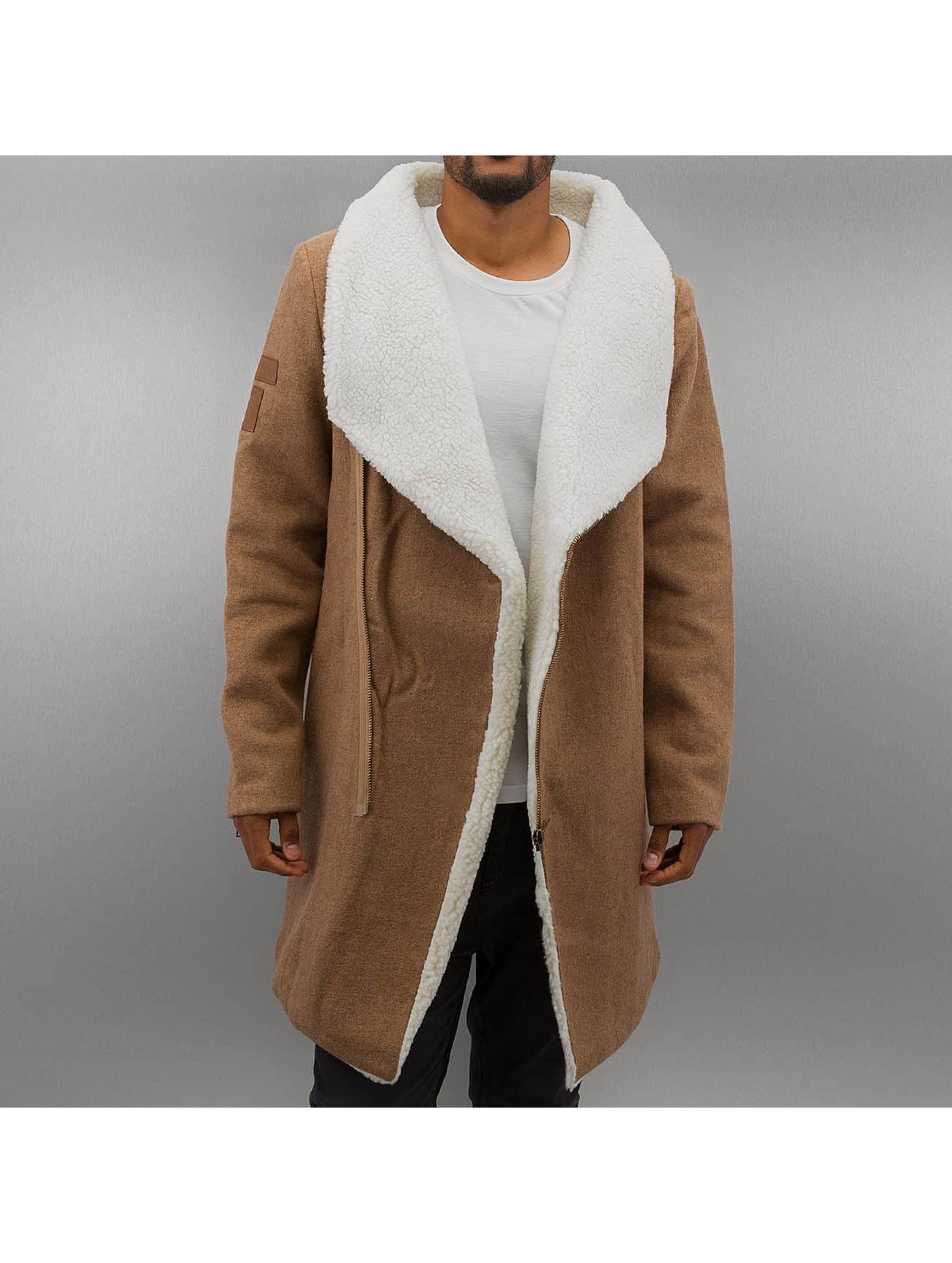 Mantel Konye in beige