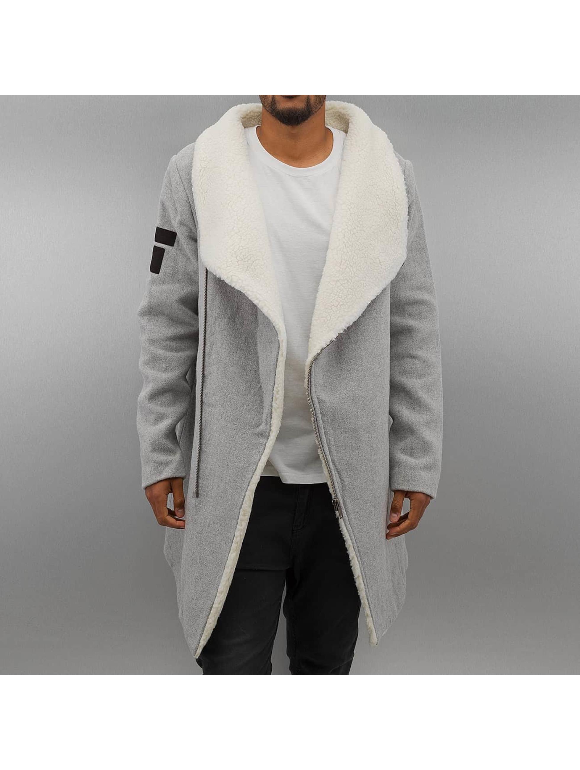 Mantel Konye in grau