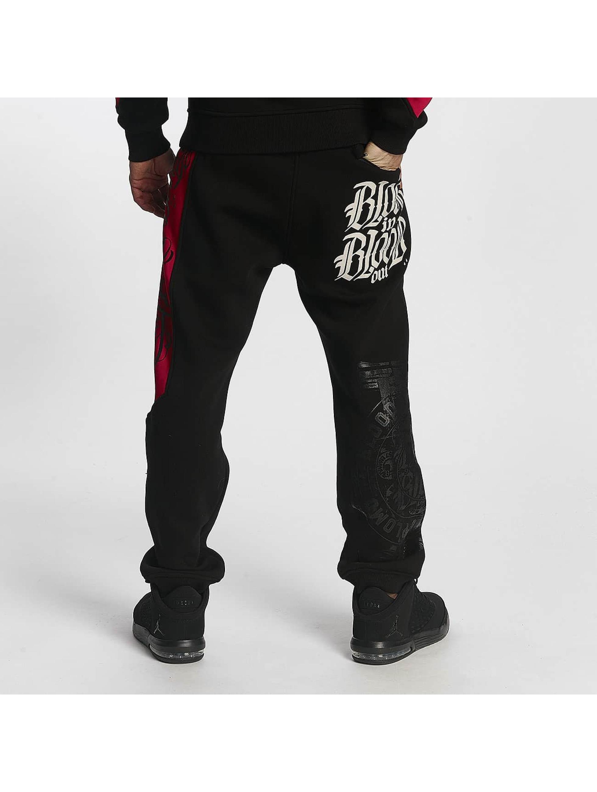 Blood In Blood Out Спортивные брюки Plata O Plomo черный