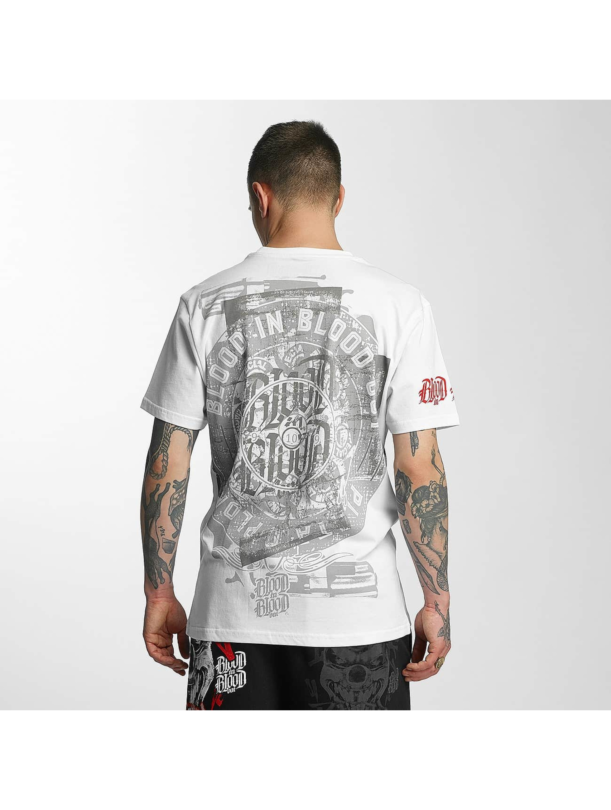 Blood In Blood Out Camiseta Out Plata O Plomo blanco