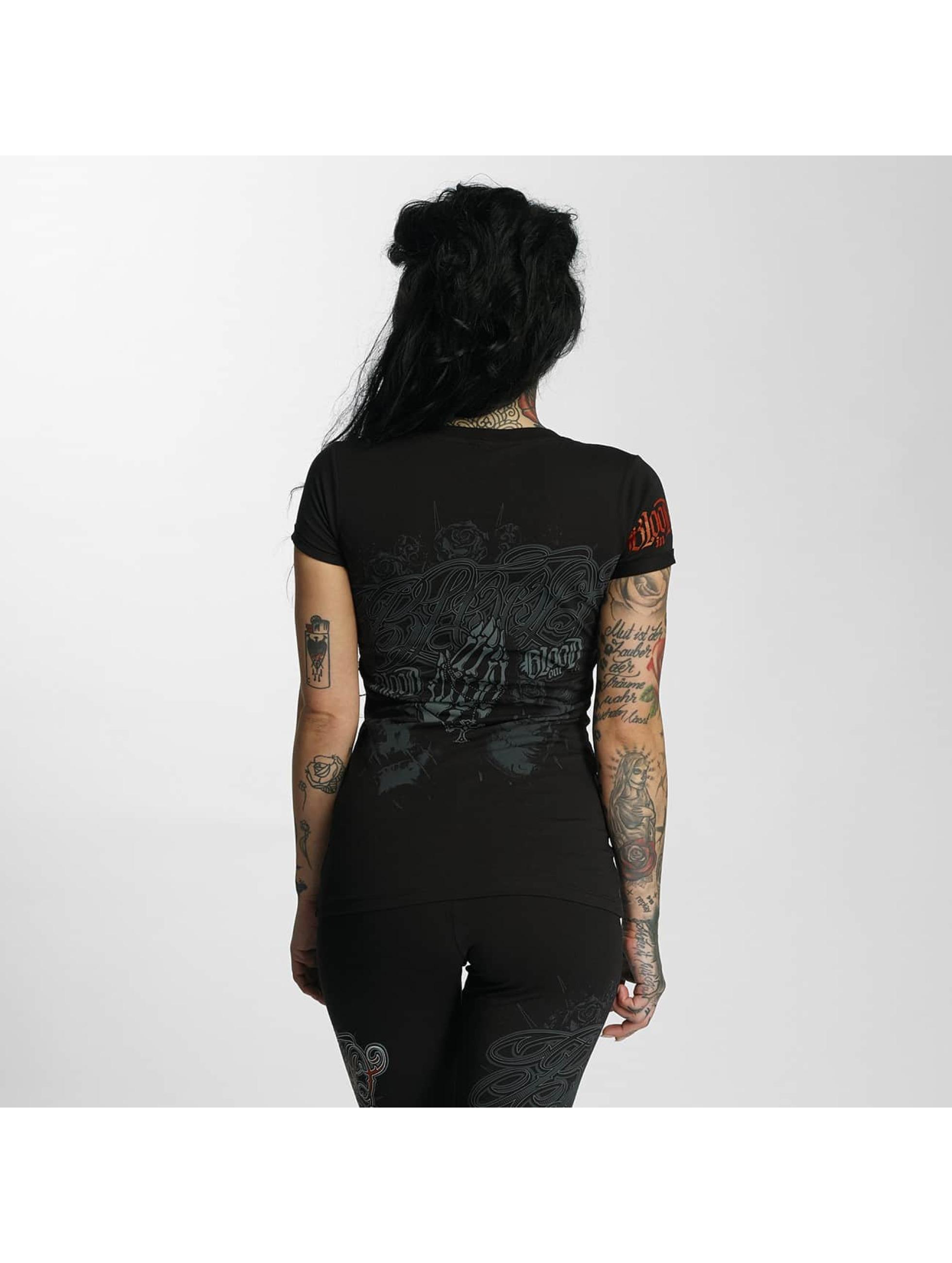Blood In Blood Out Camiseta Manos Orando negro