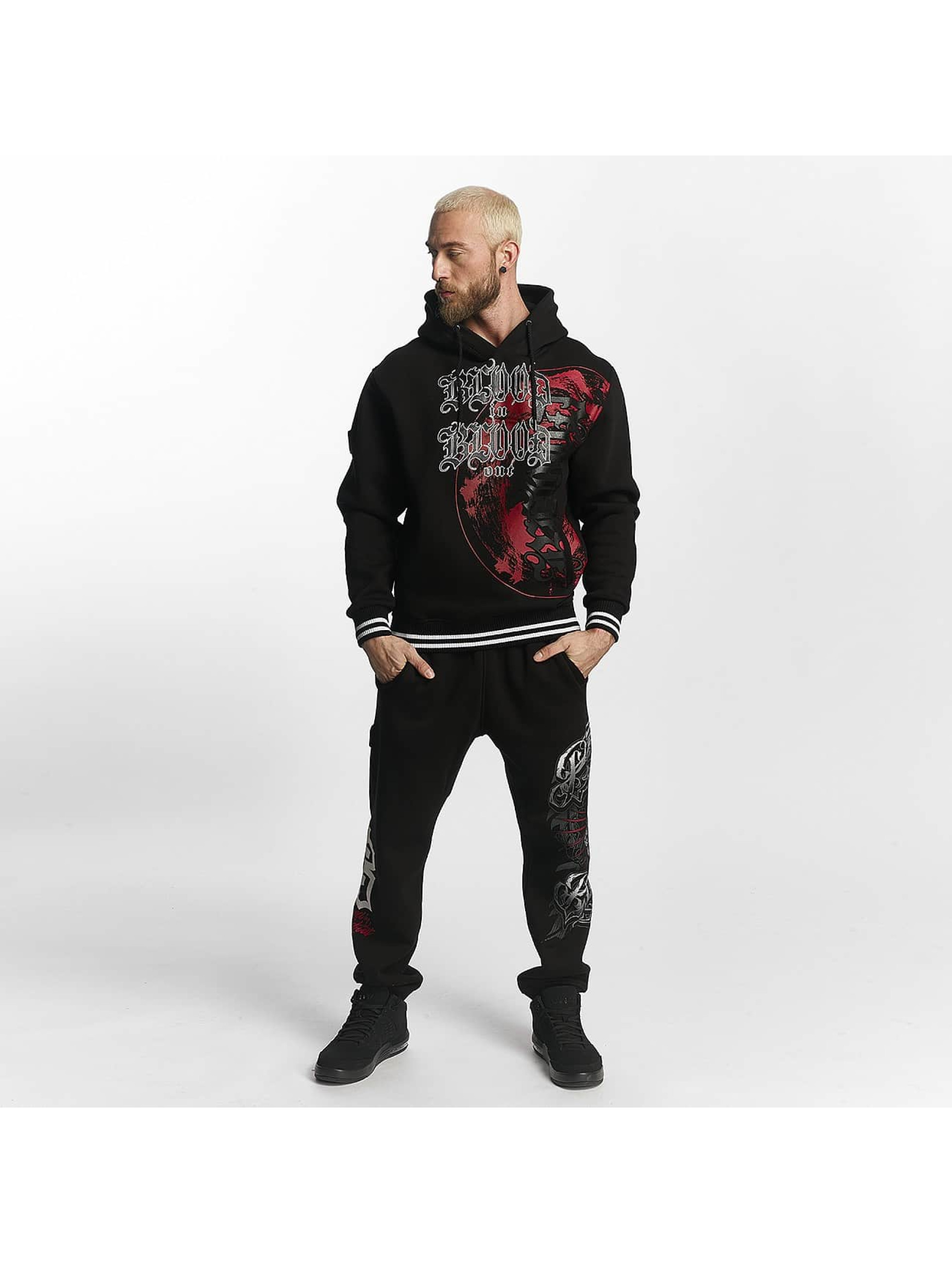 Blood In Blood Out Hoodie Cartel svart