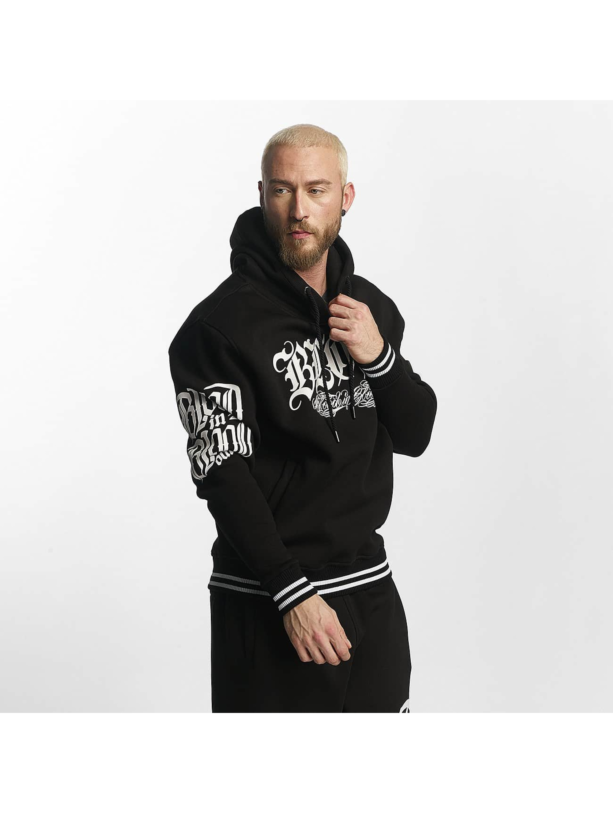 Blood In Blood Out Hoody Lema schwarz