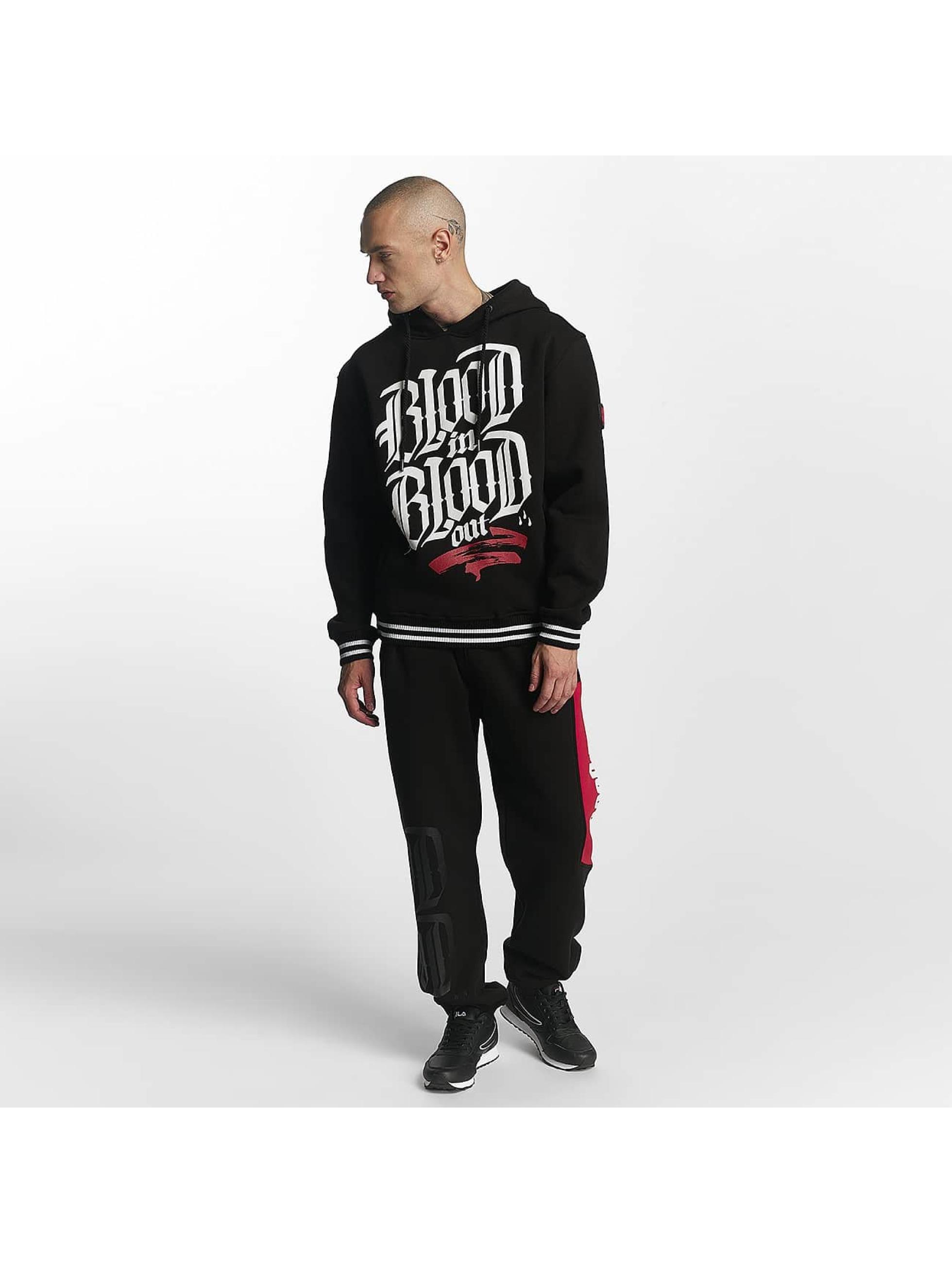 Blood In Blood Out joggingbroek Clean Blood zwart