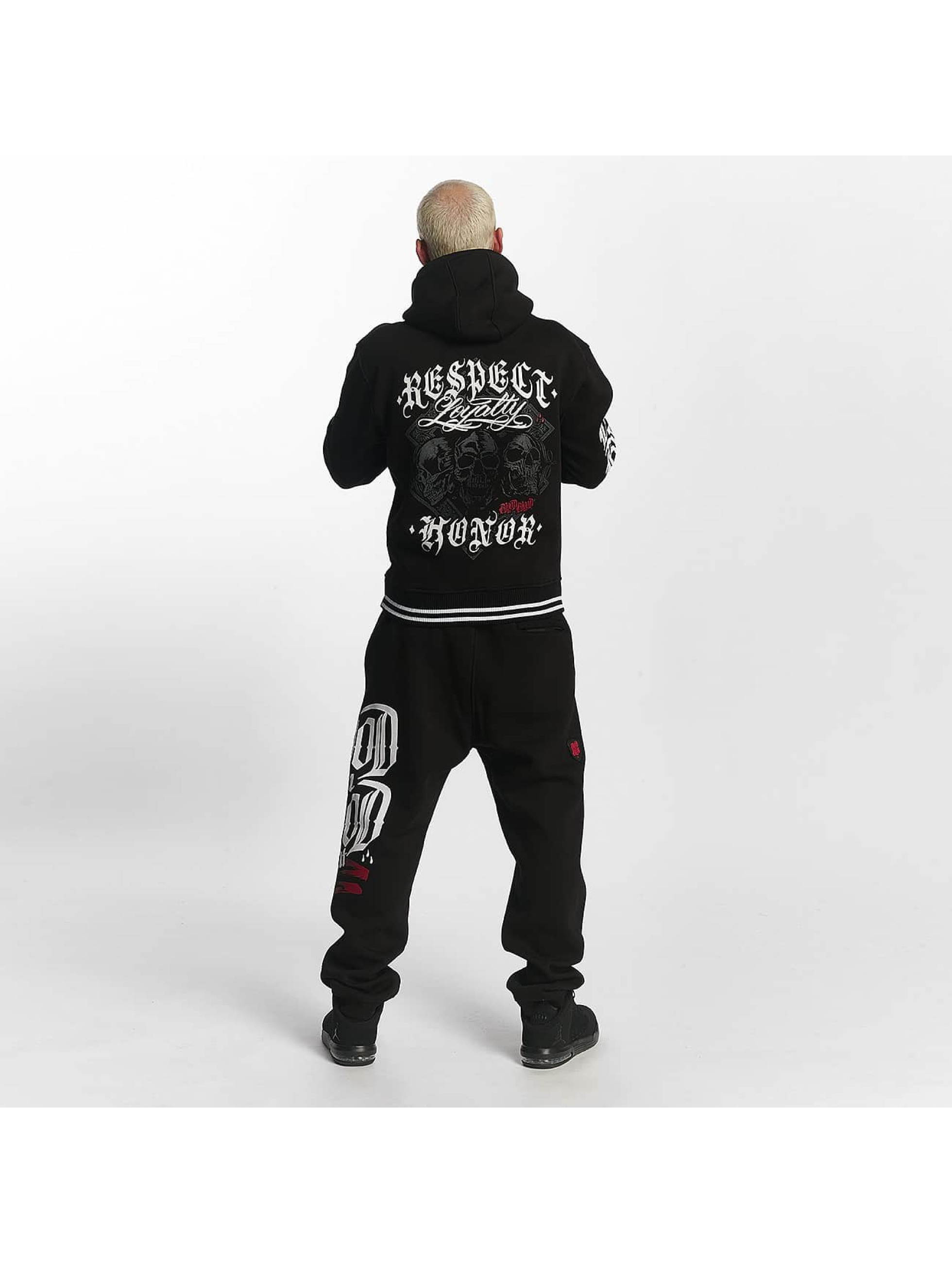 Blood In Blood Out joggingbroek Logo zwart