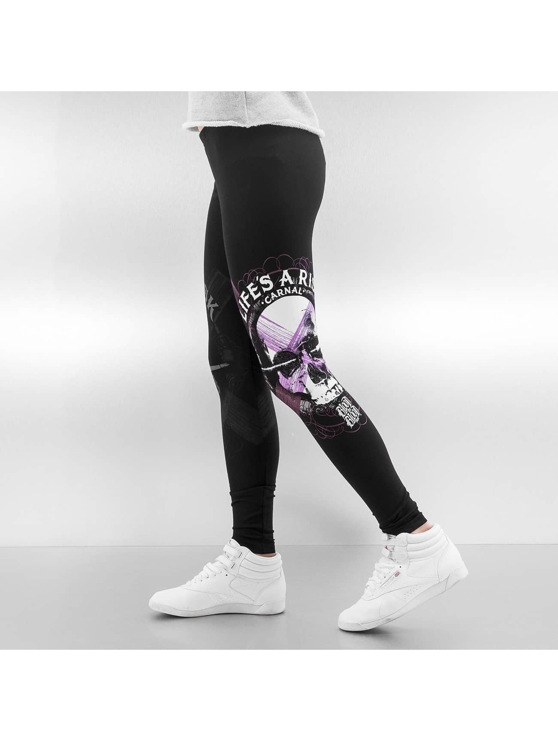 Blood In Blood Out Legging Blood Art Skull zwart