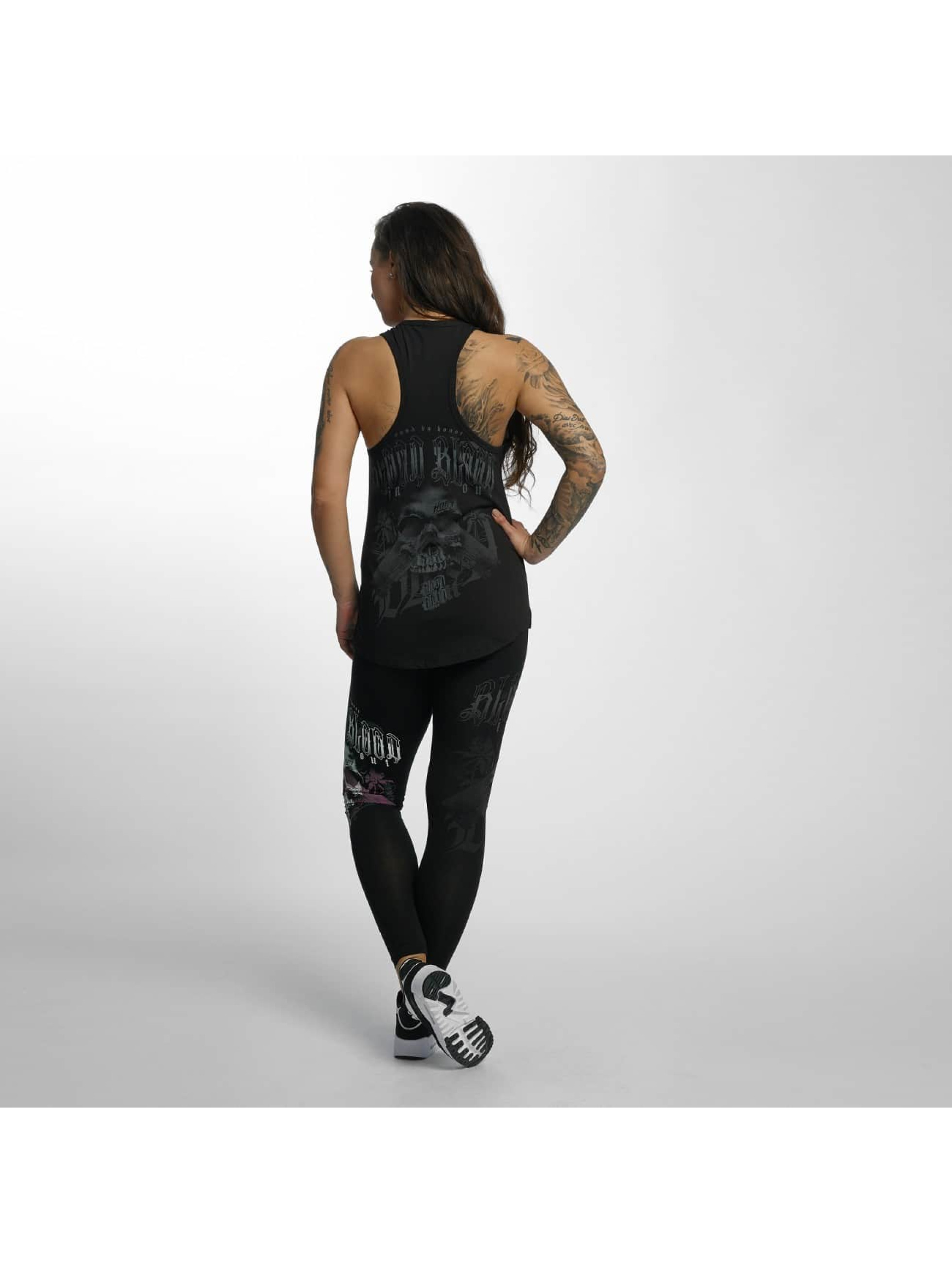 Blood In Blood Out Legging Black Honor zwart