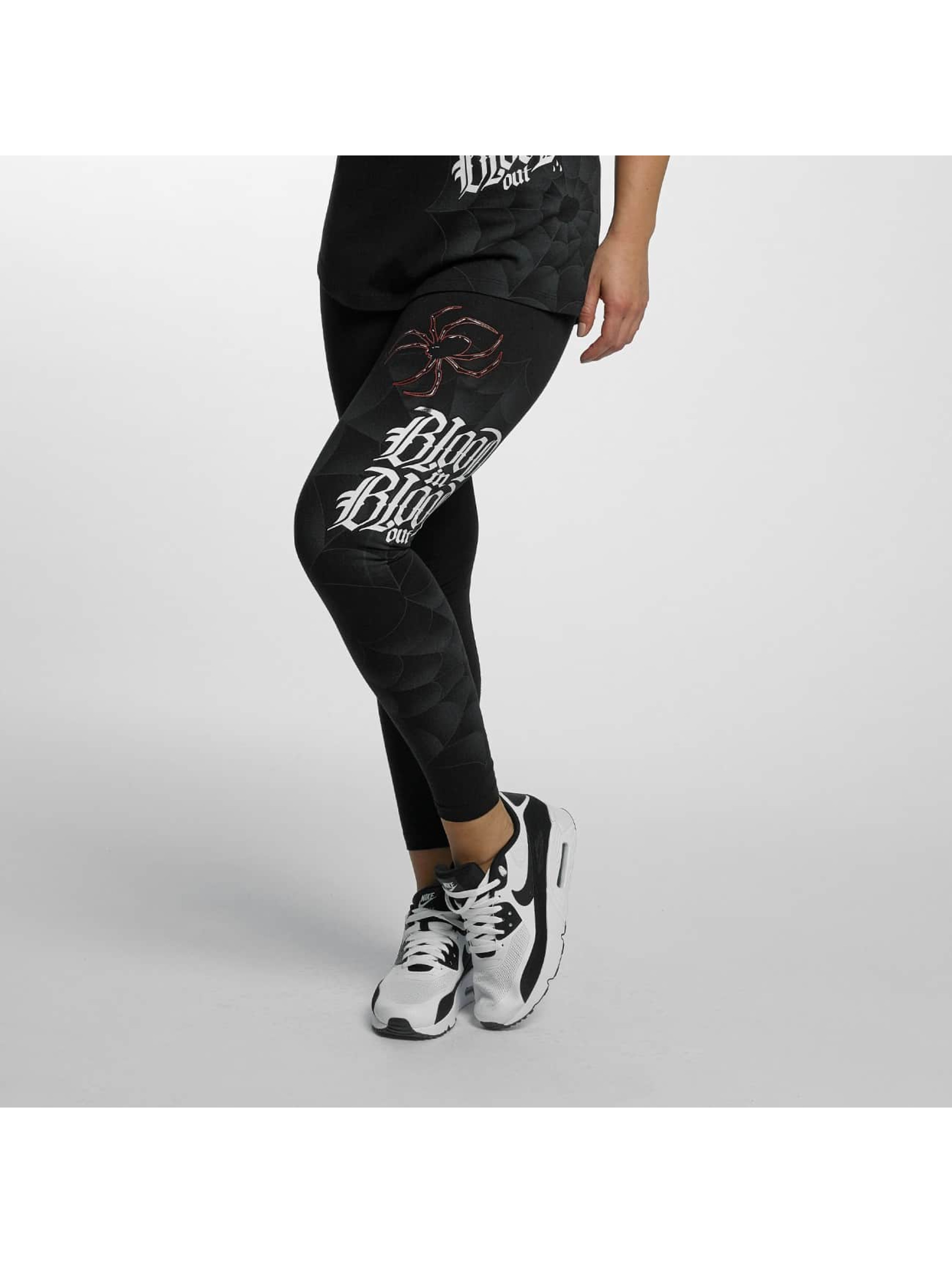 Blood In Blood Out Leggings/Treggings Ranio Negro sort