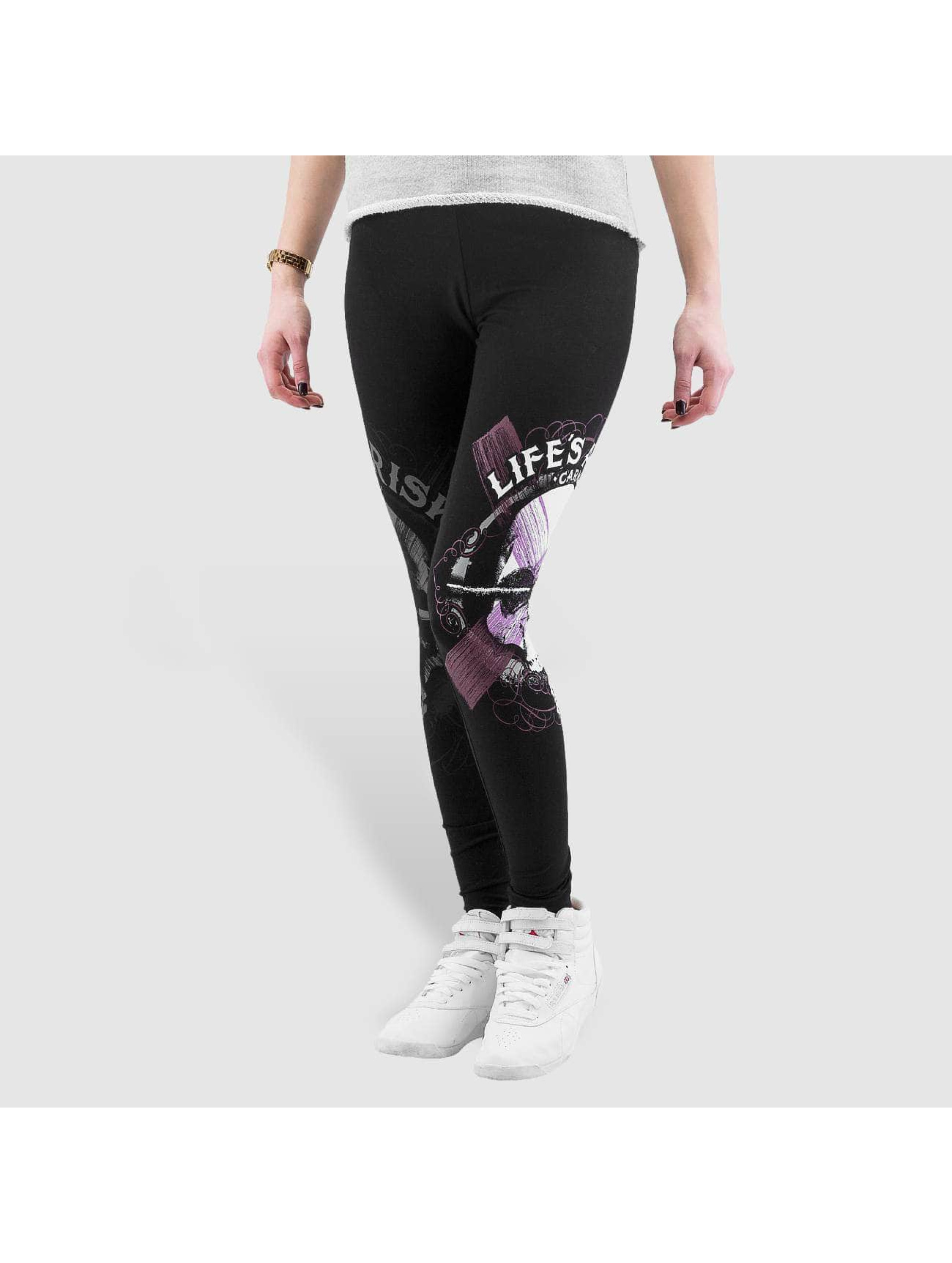 Blood In Blood Out Leggings/Treggings Blood Art Skull svart