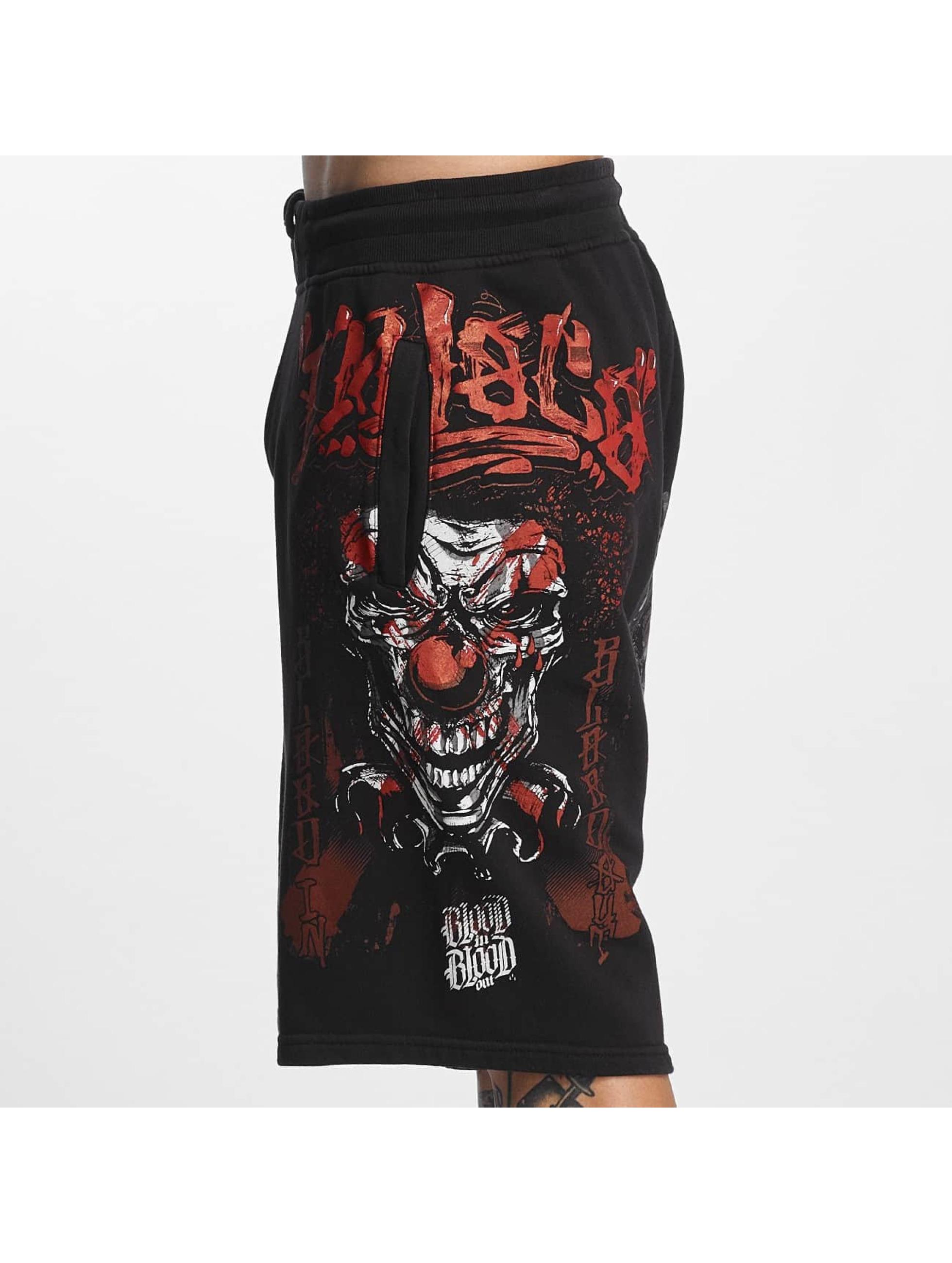 Blood In Blood Out Pantalón cortos Loco negro