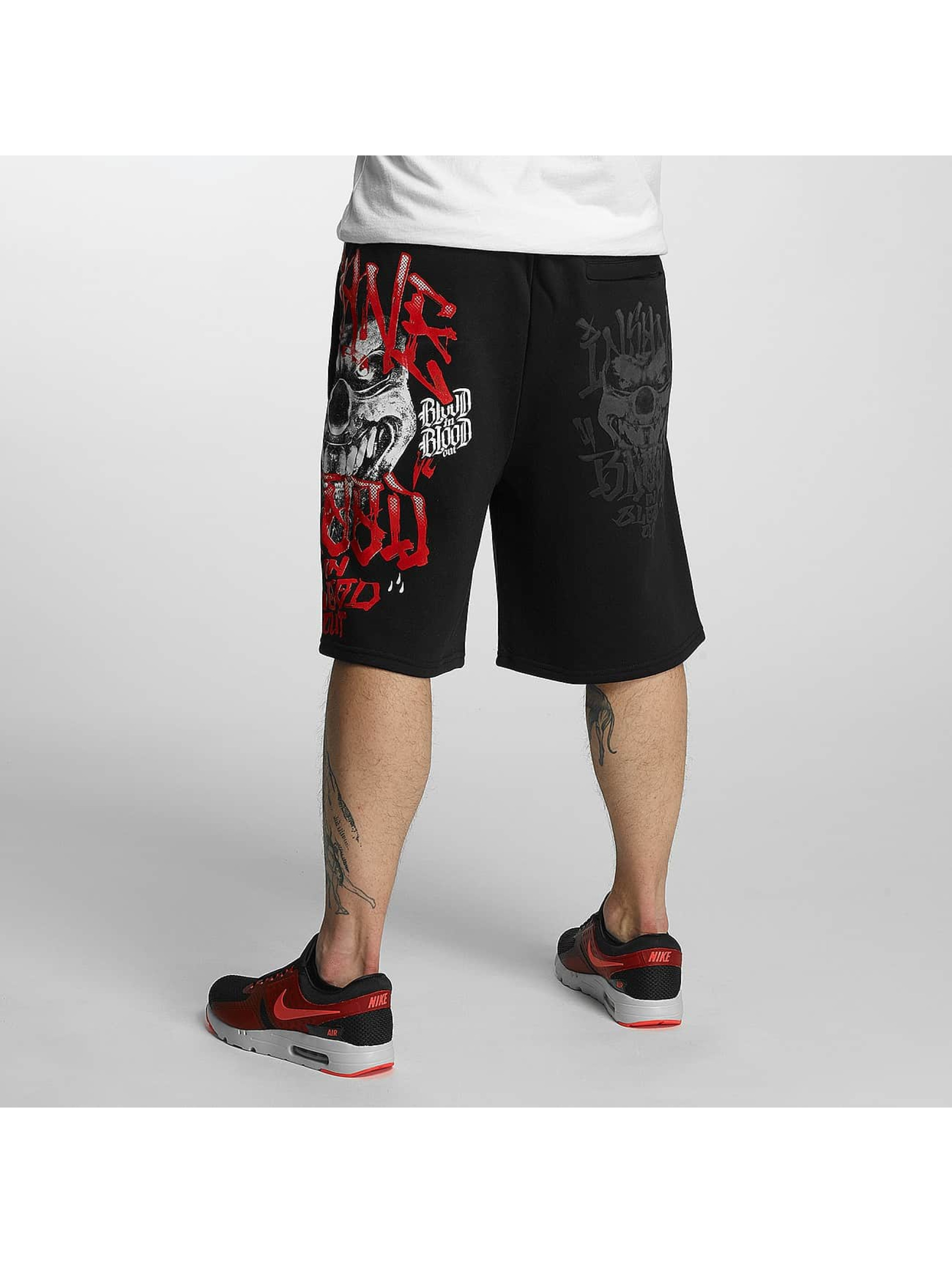Blood In Blood Out Shorts Out Harlekin nero