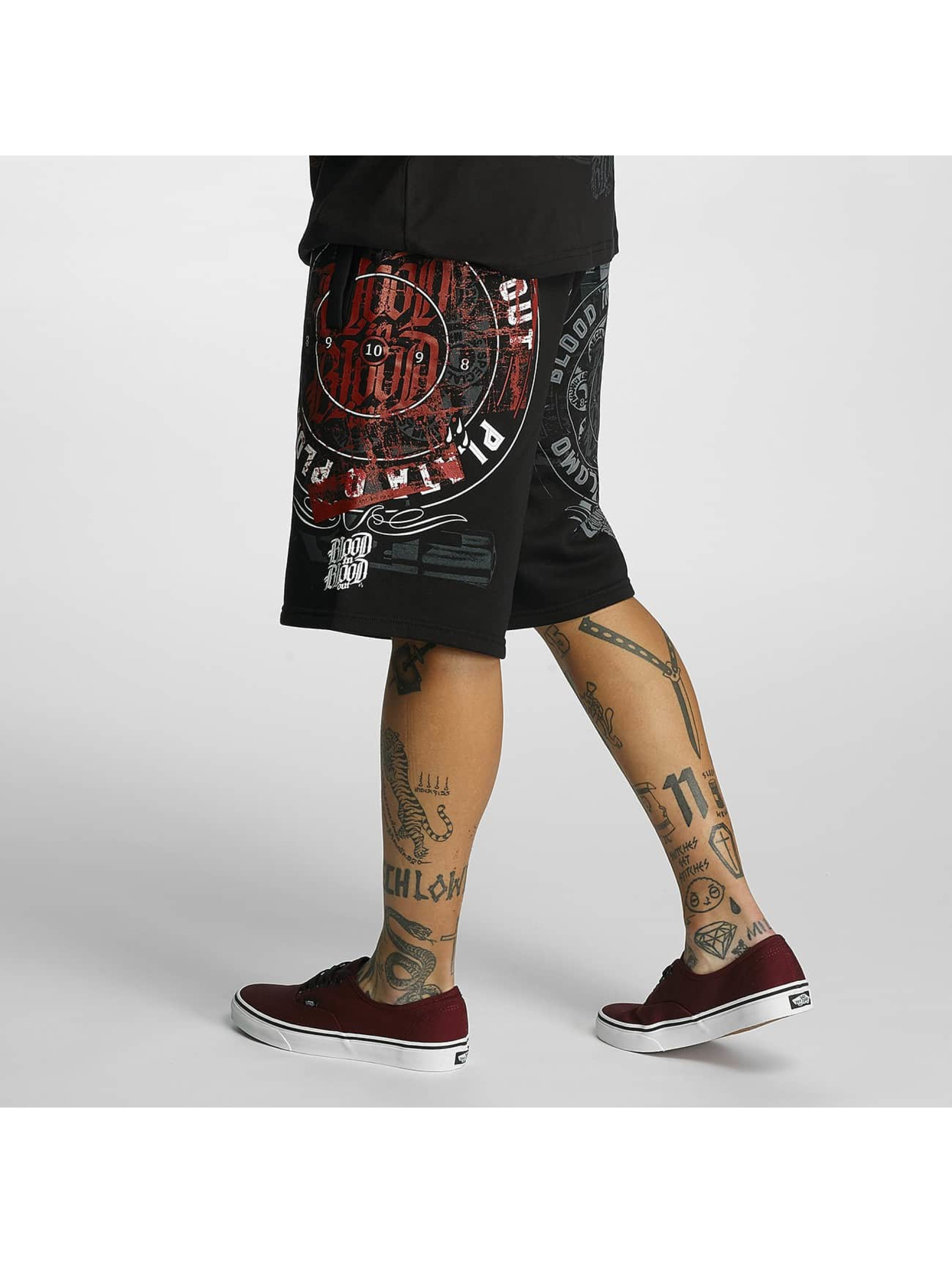 Blood In Blood Out Shorts Plata O Plomo svart