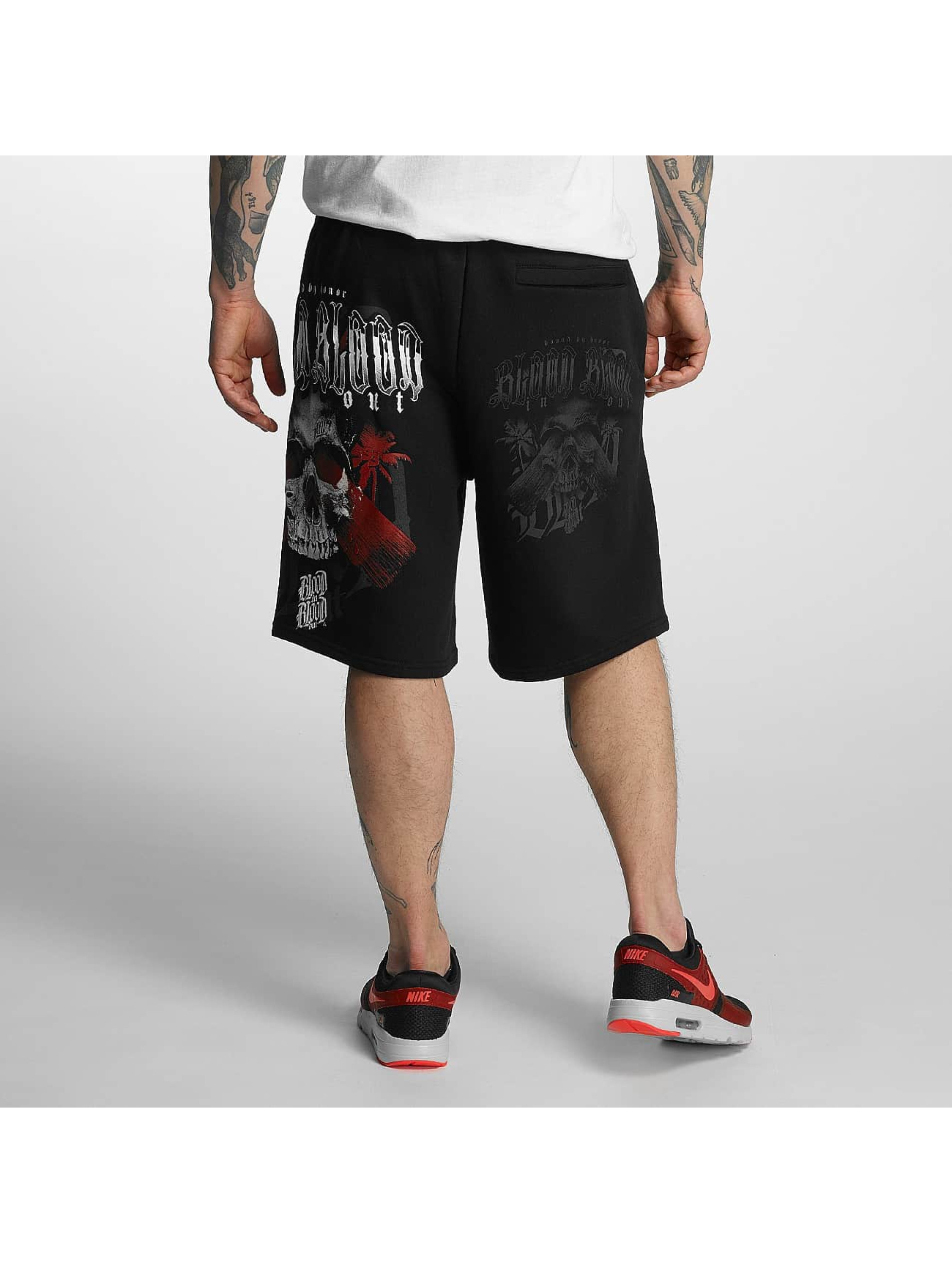 Blood In Blood Out shorts Out Honor zwart