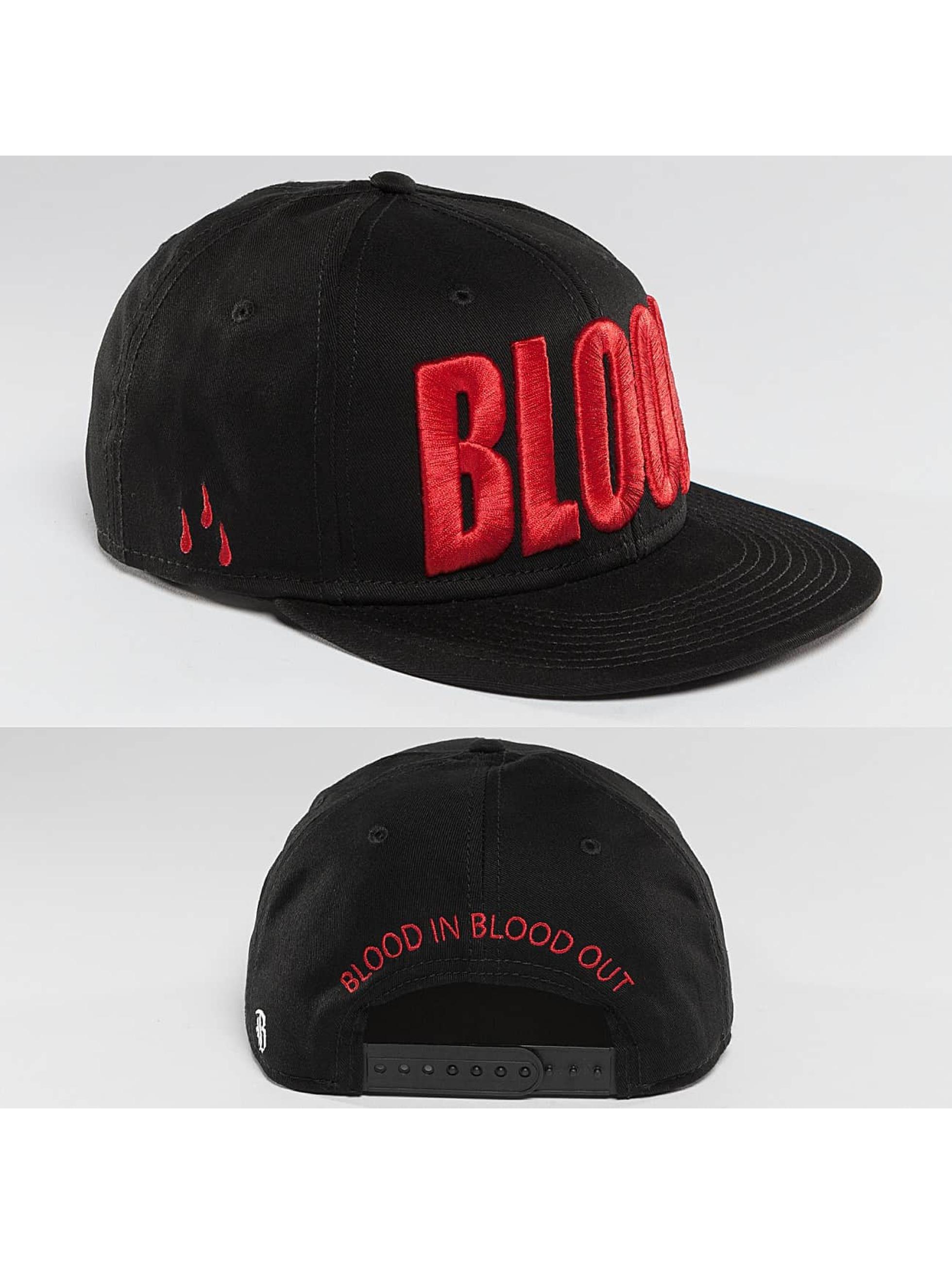 Blood In Blood Out Snapback Cap Brandlogo black