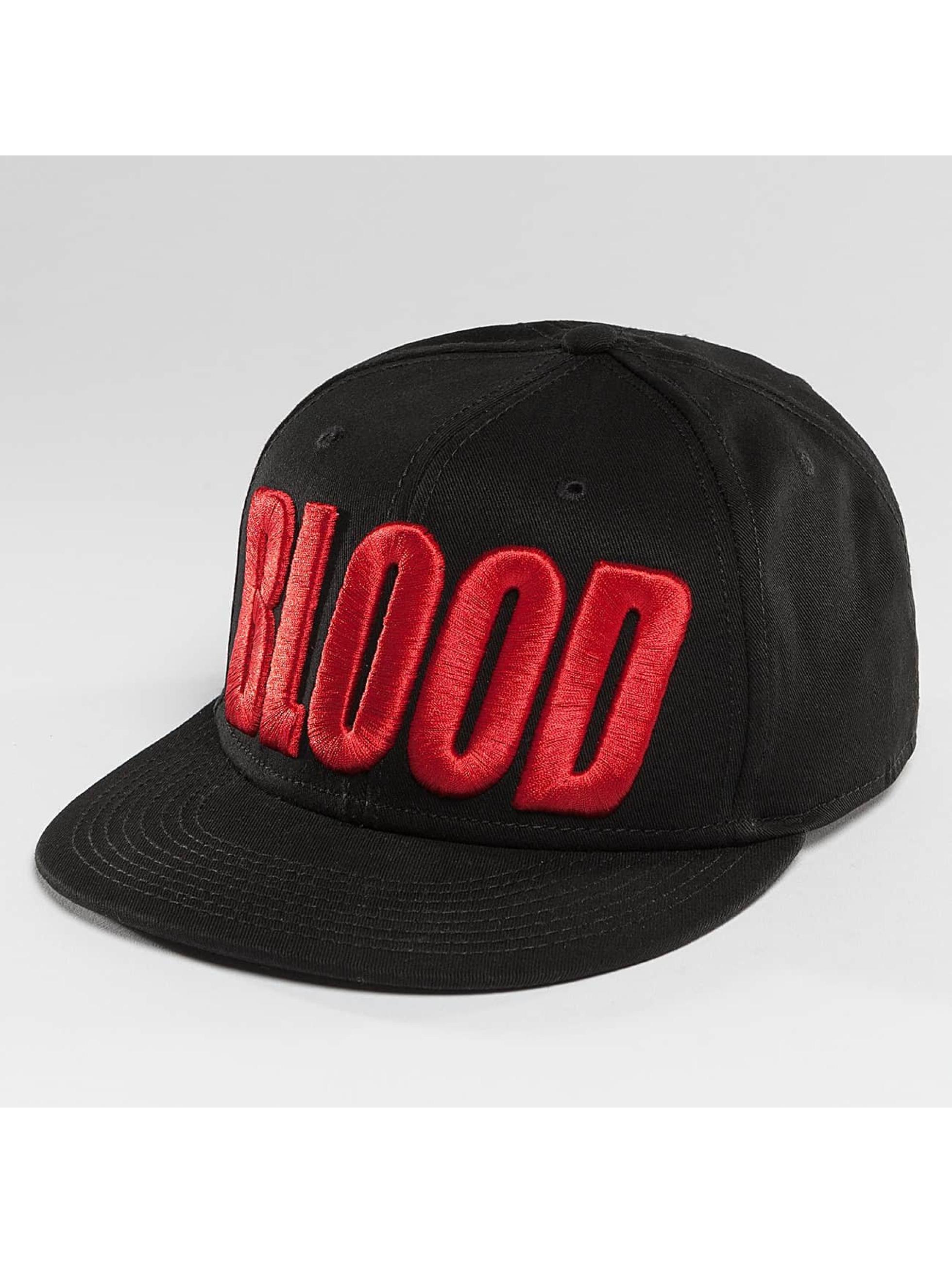 Blood In Blood Out Snapback Cap Brandlogo schwarz