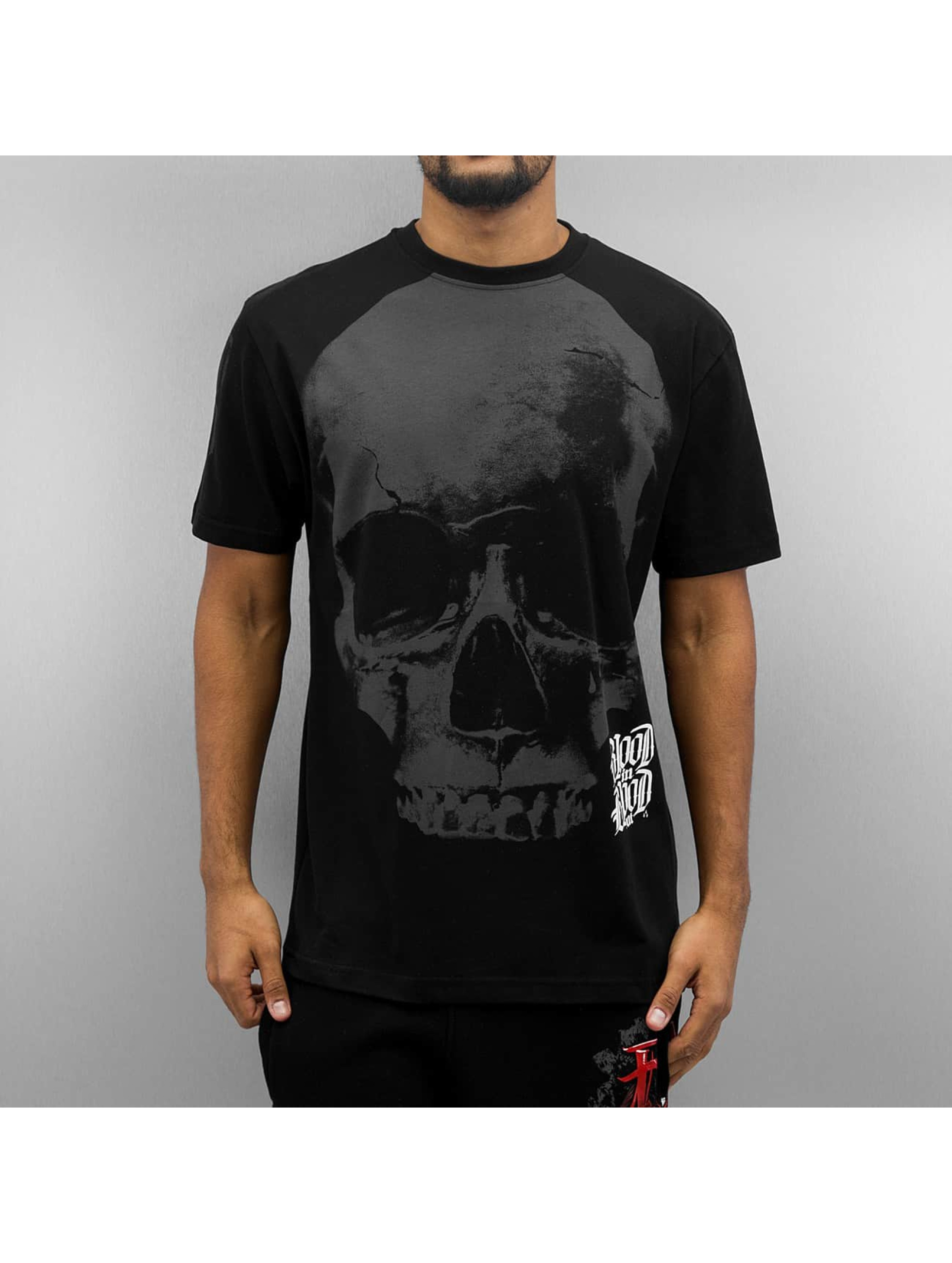 Blood In Blood Out T-Shirt Blood Big Calavera black