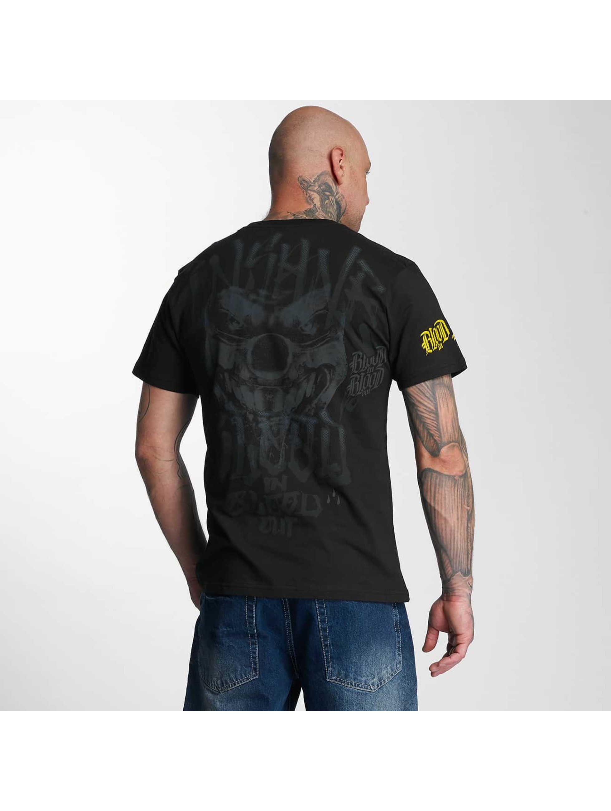 Blood In Blood Out T-Shirt Yellow Harlekin black
