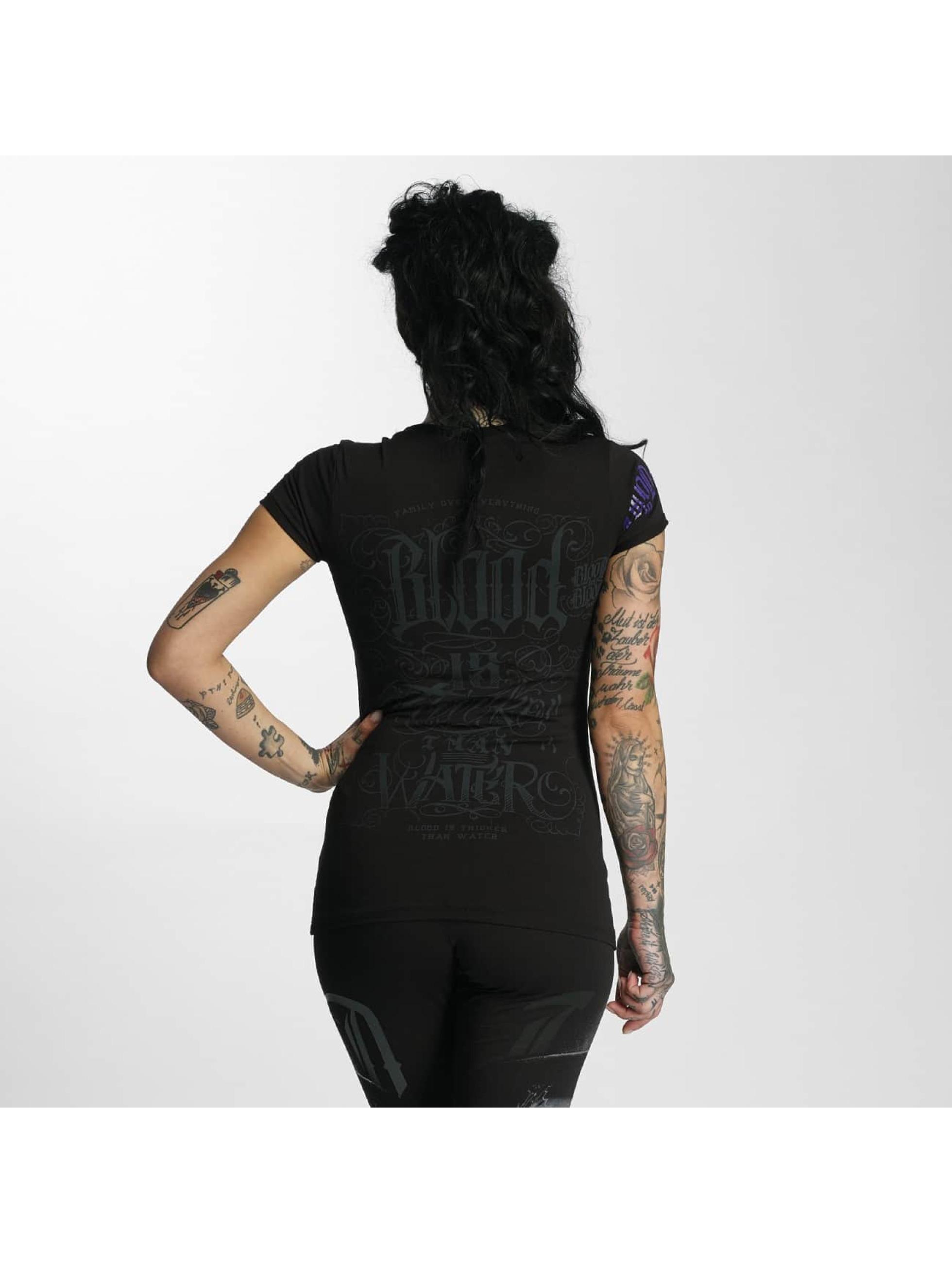 Blood In Blood Out T-Shirt Sangre Gruesa black