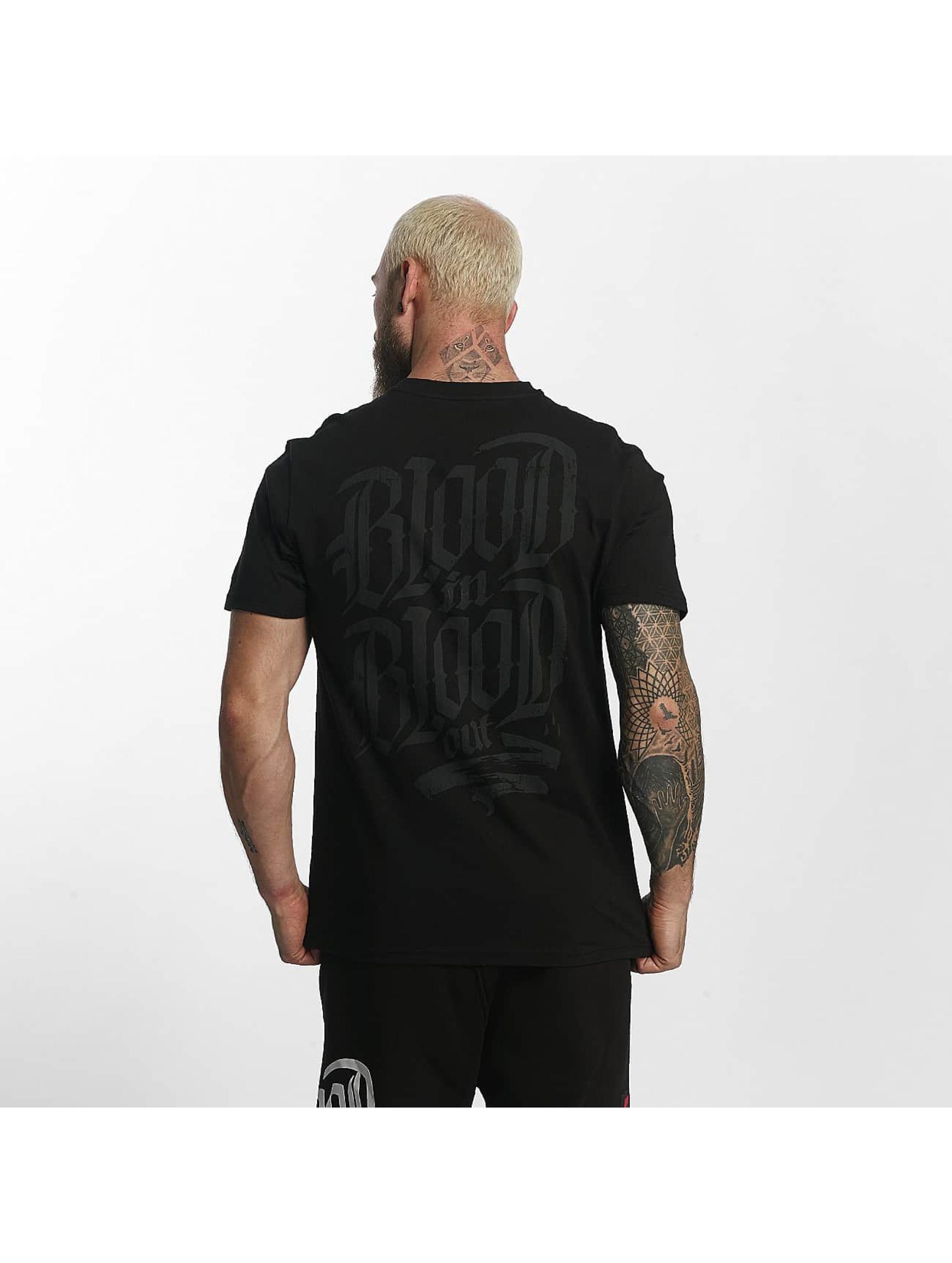 Blood In Blood Out T-Shirt Escudo noir