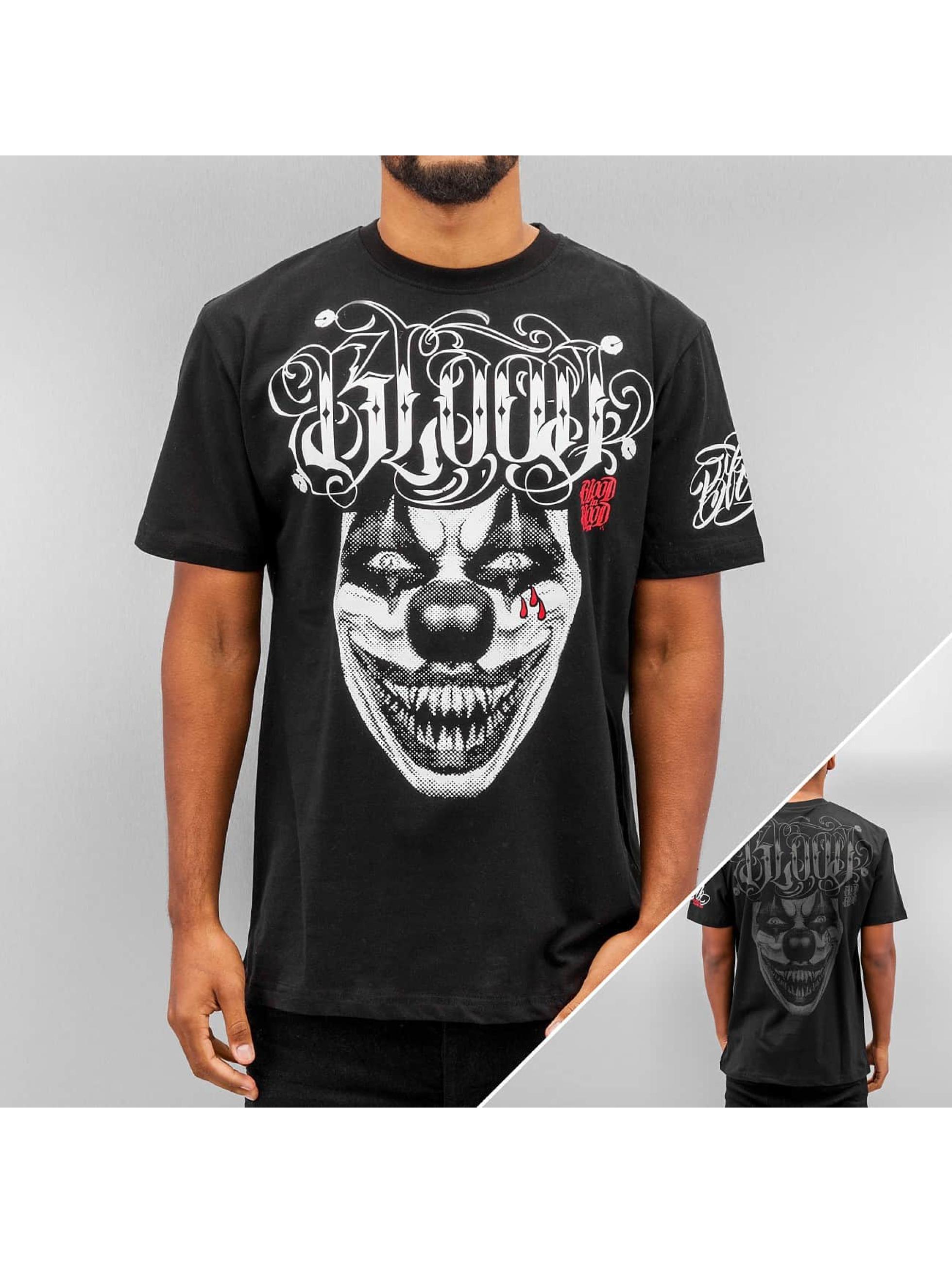 Blood In Blood Out T-Shirt Harlekin schwarz