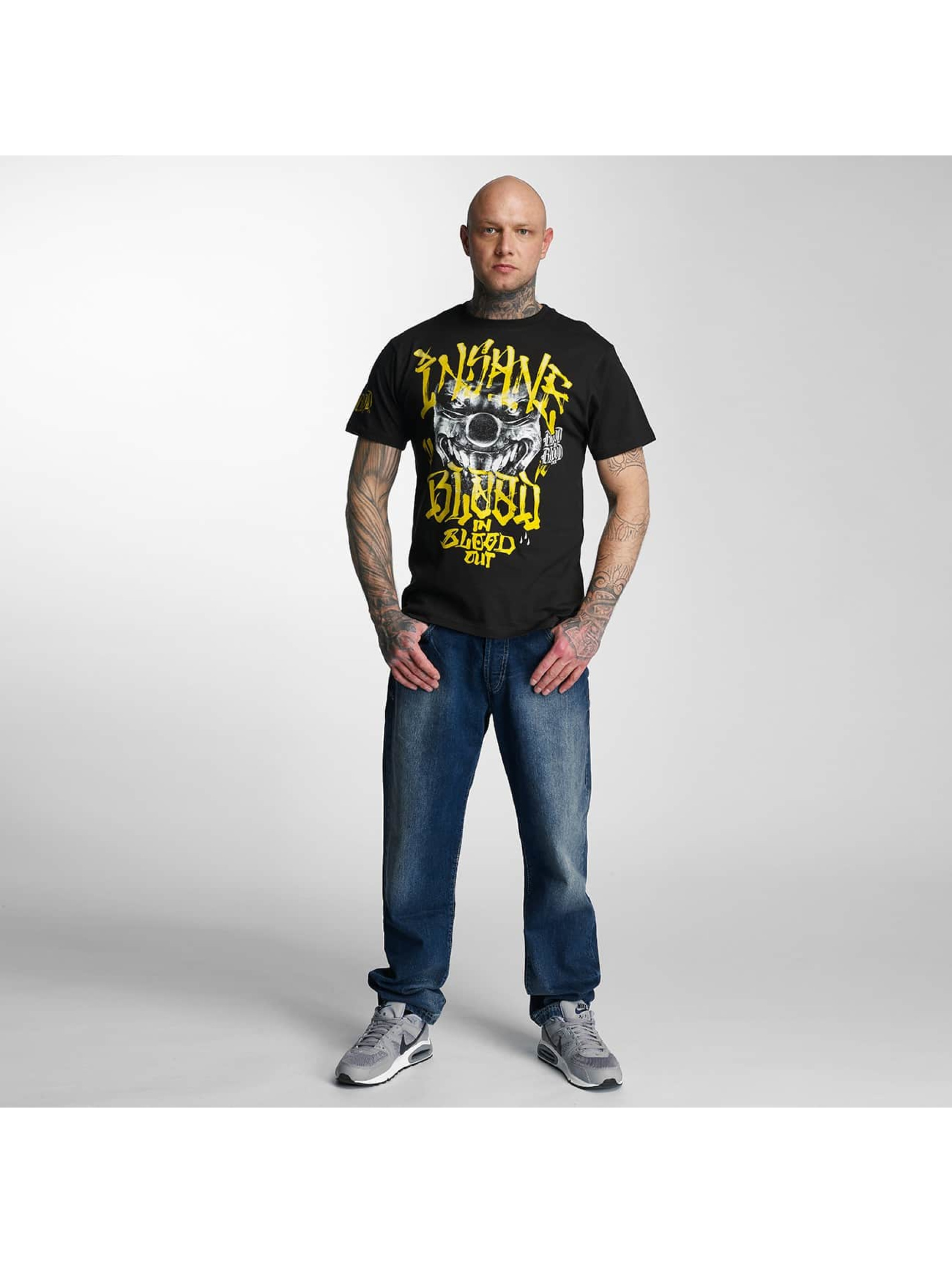 Blood In Blood Out T-Shirt Yellow Harlekin schwarz