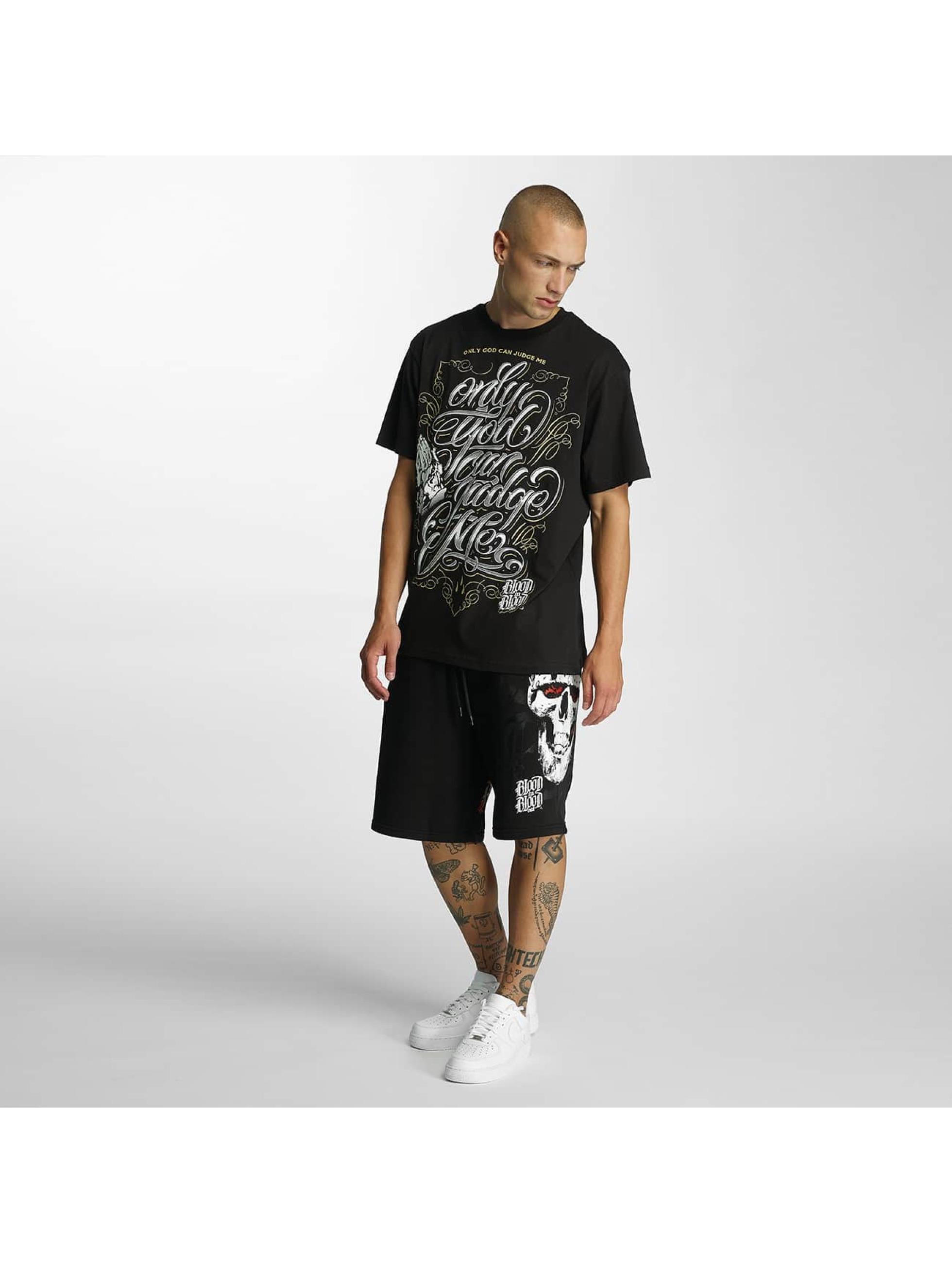 Blood In Blood Out T-Shirt God Judge schwarz