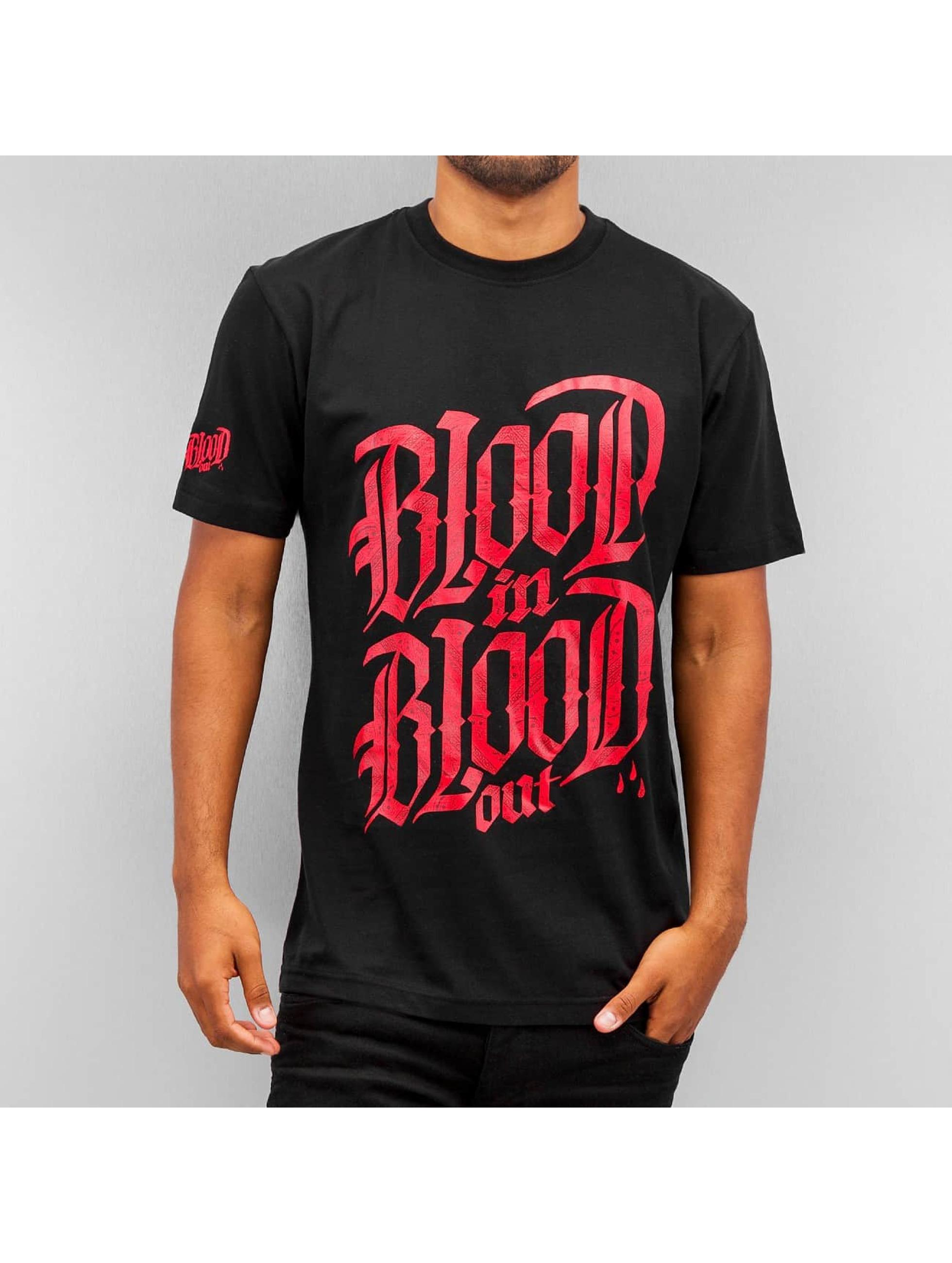 Blood In Blood Out T-shirt Logo svart