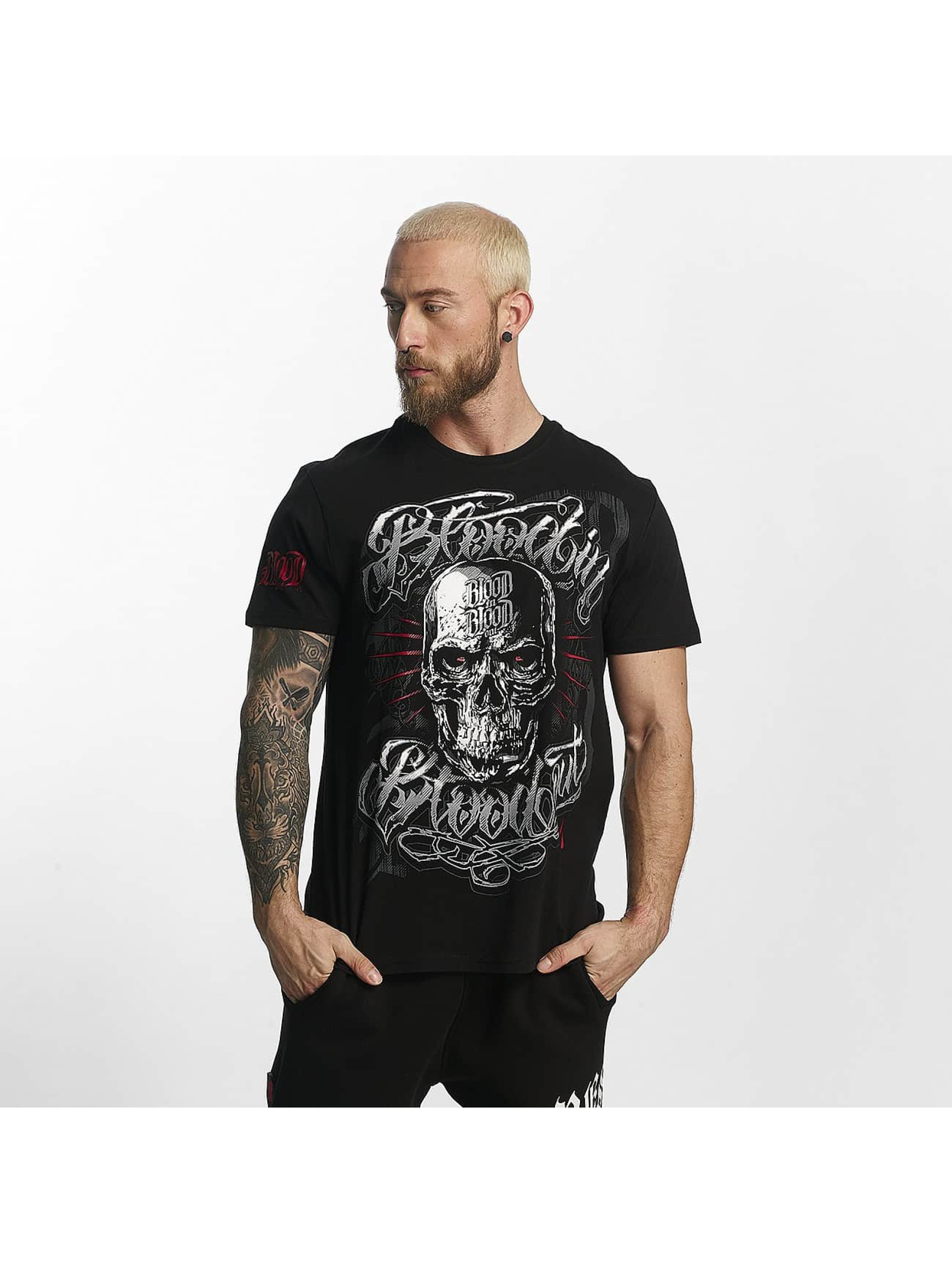 Blood In Blood Out T-shirt Infernal svart