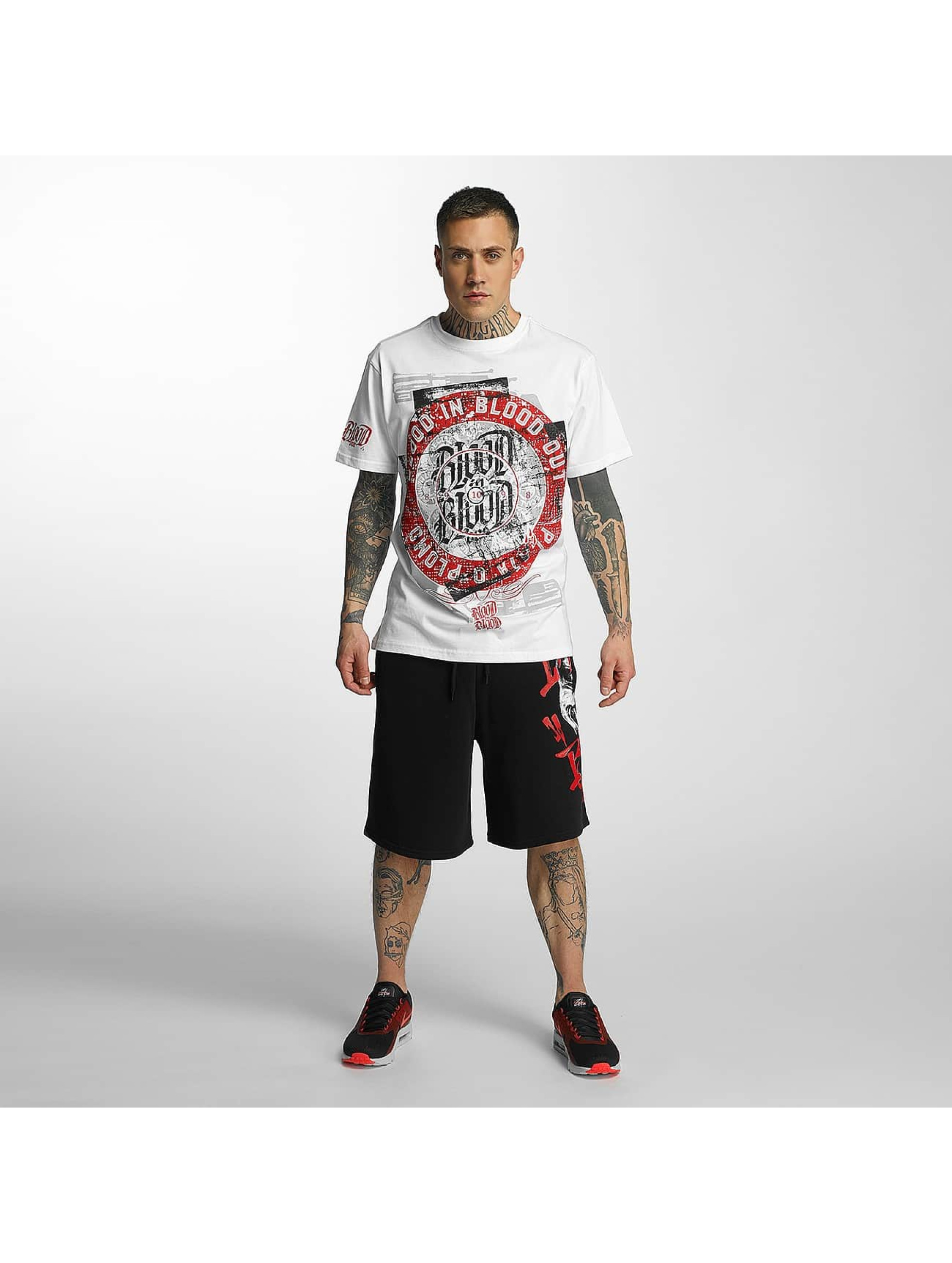 Blood In Blood Out T-Shirt Out Plata O Plomo weiß