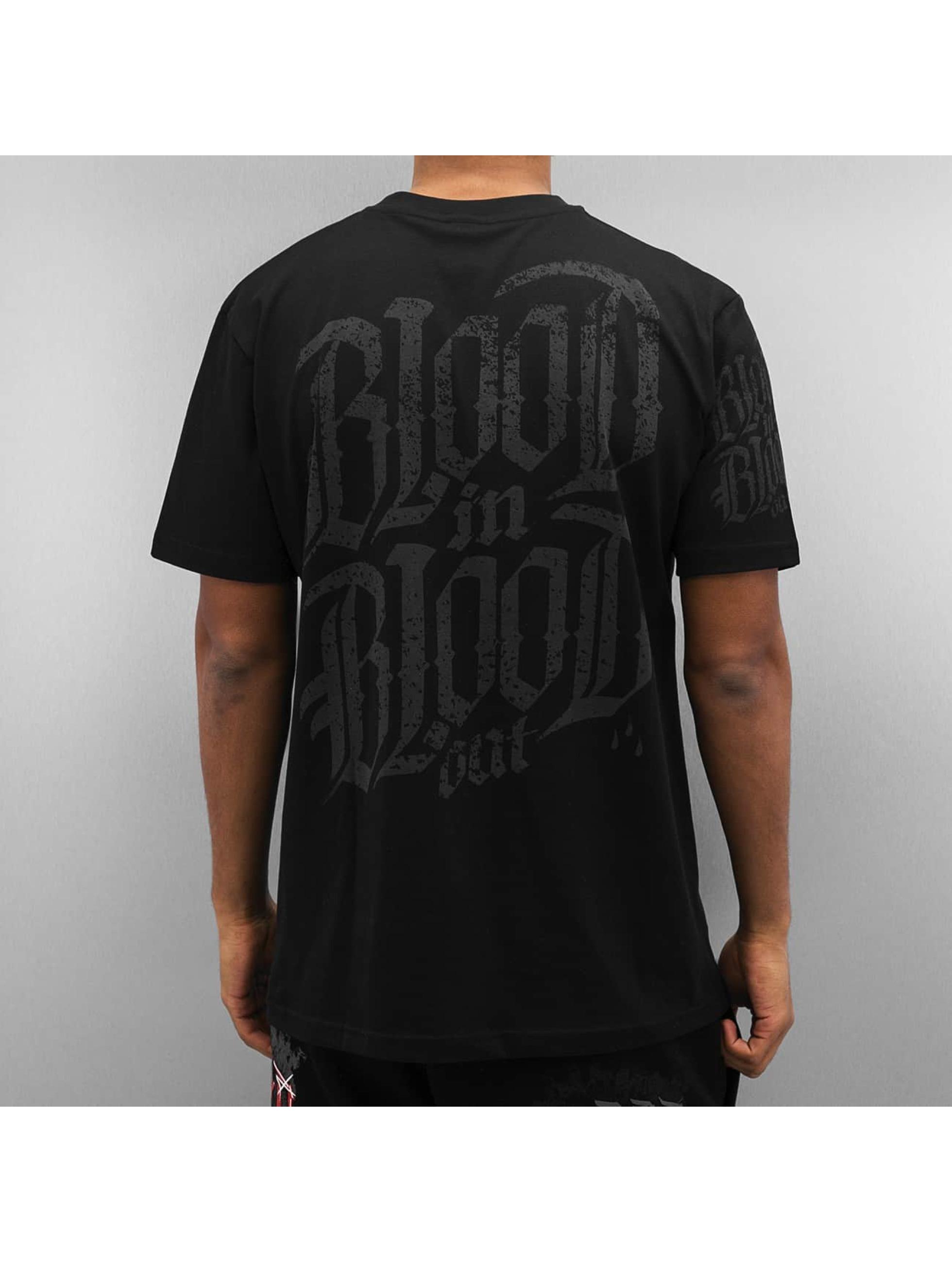 Blood In Blood Out t-shirt Blood Big Calavera zwart